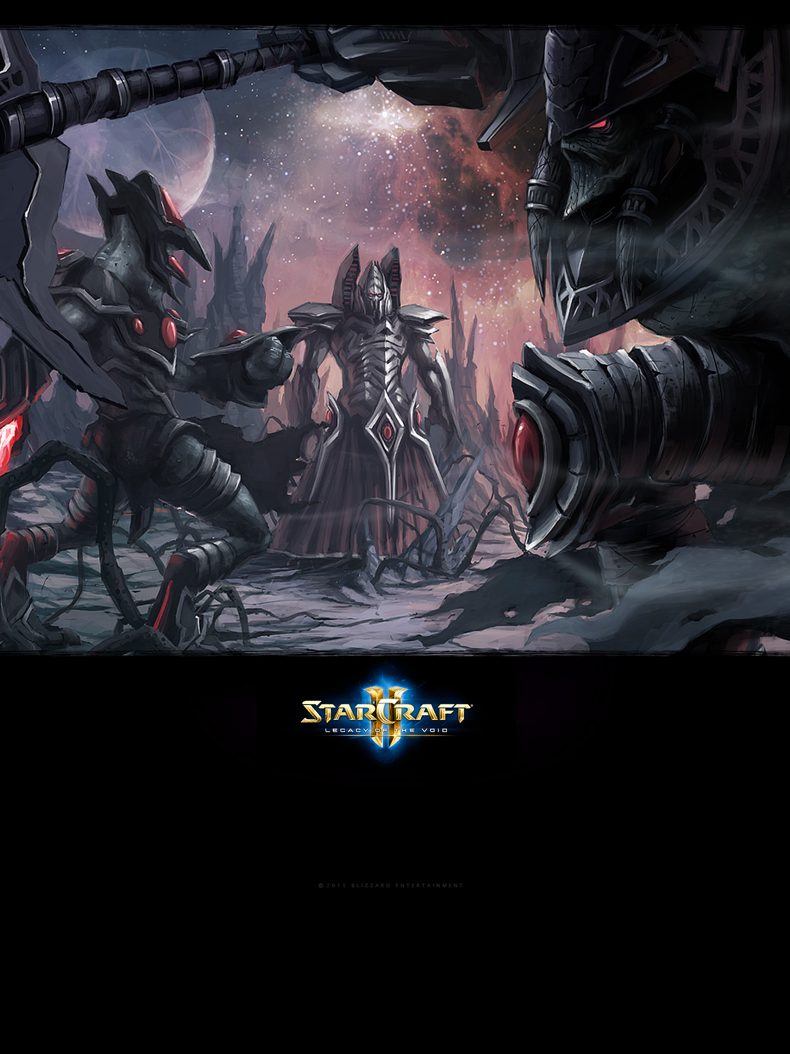 Starcraft Ii Legacy Of The Void 2015 Promotional Art Mobygames