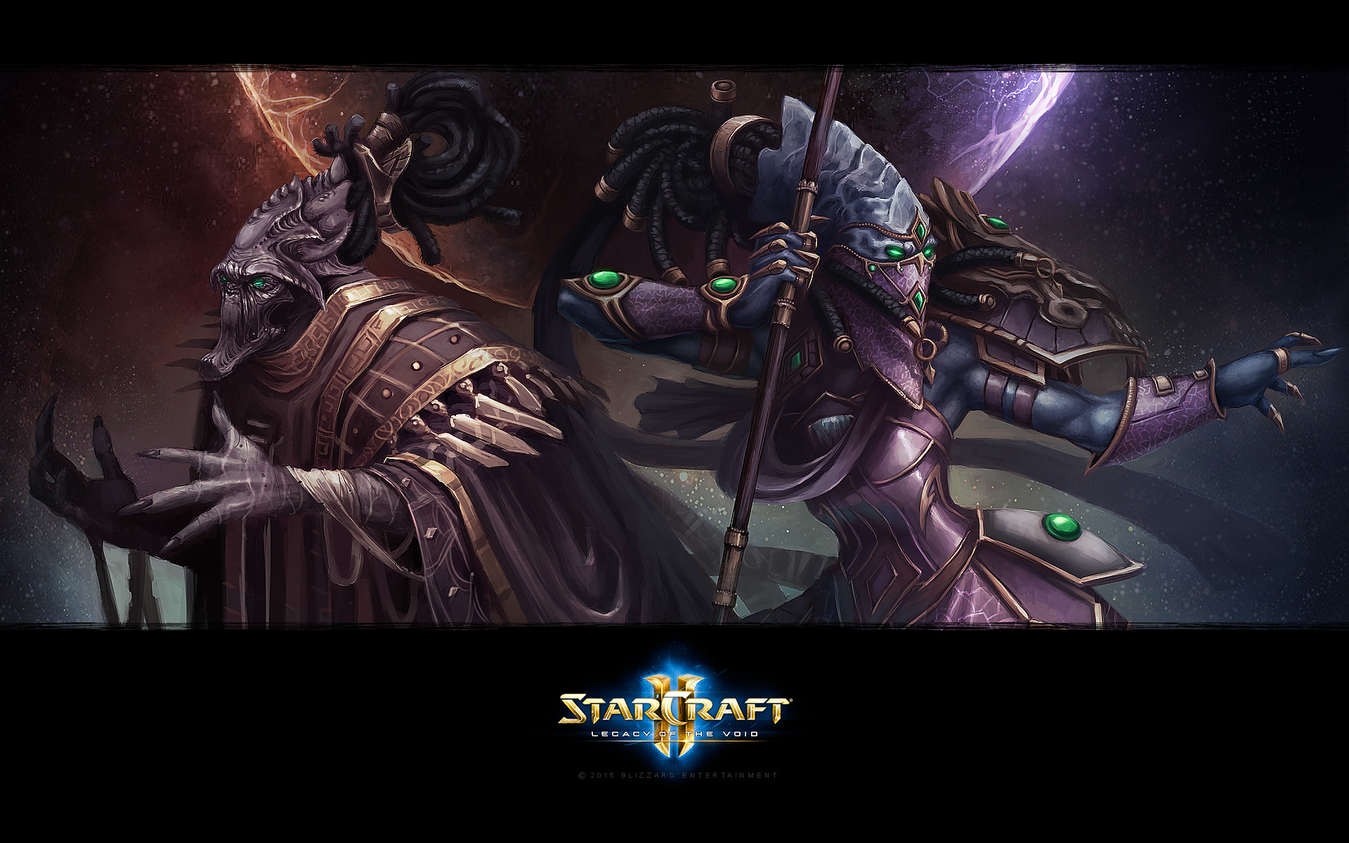 Starcraft Ii Legacy Of The Void Opening Cinematic Youtube