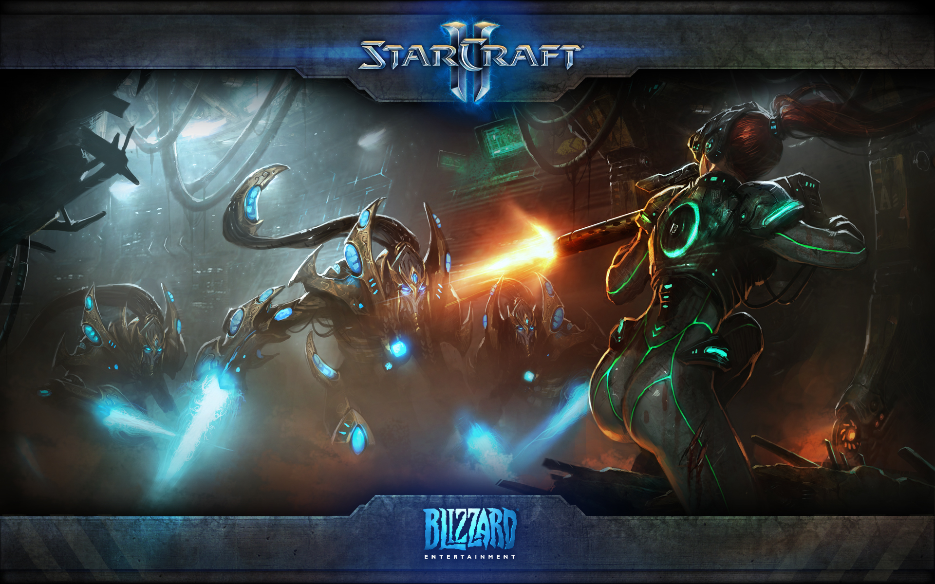 Starcraft Ii Wings Of Liberty 2010 Promotional Art Mobygames