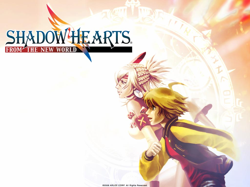 Shadow Hearts From The New World 2005 Promotional Art Mobygames