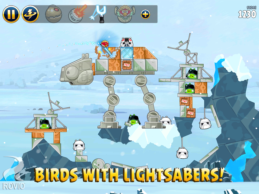 Angry Birds: Star Wars (2012) promotional art - MobyGames