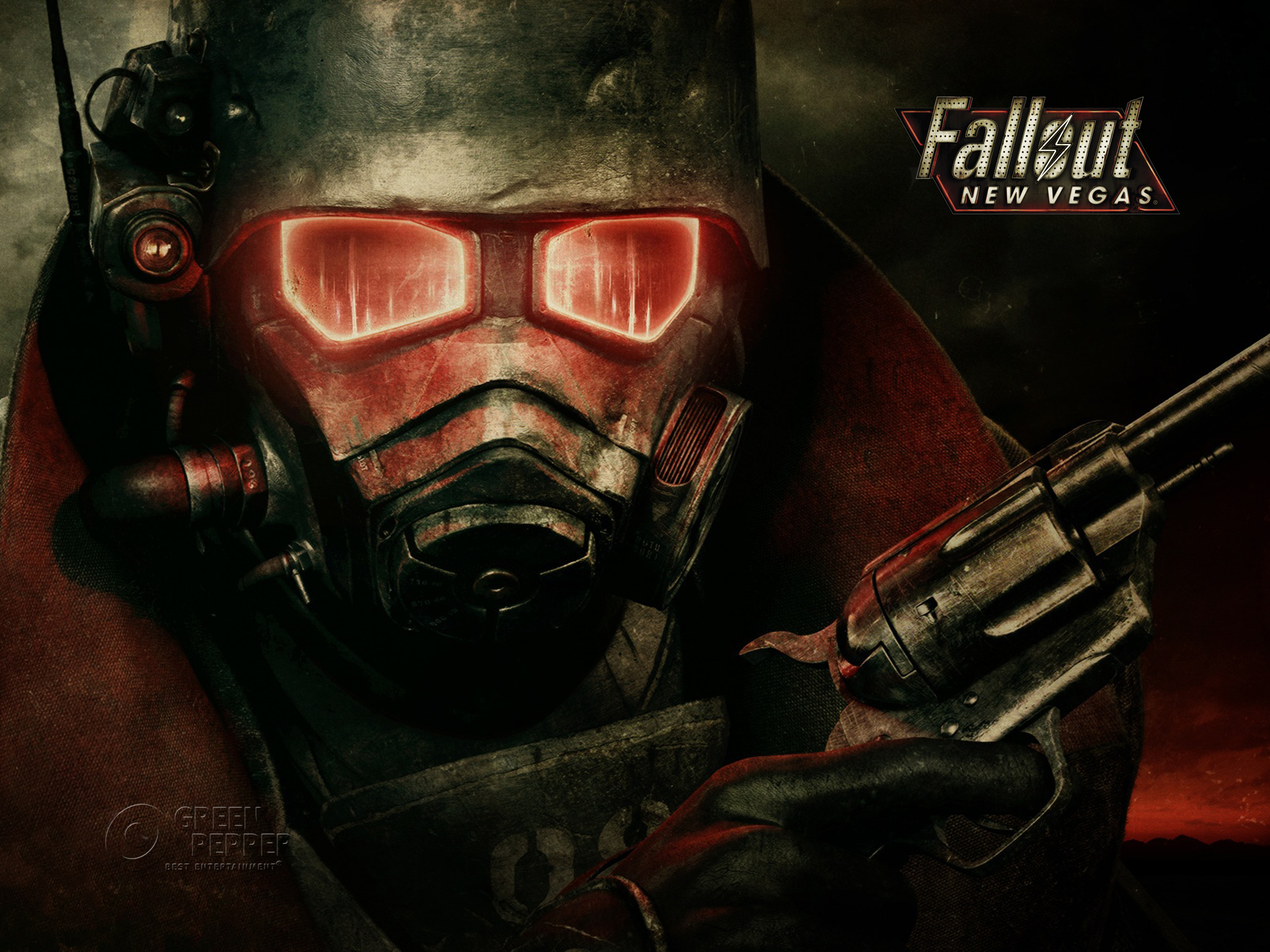 Fallout New Vegas 2010 Promotional Art Mobygames