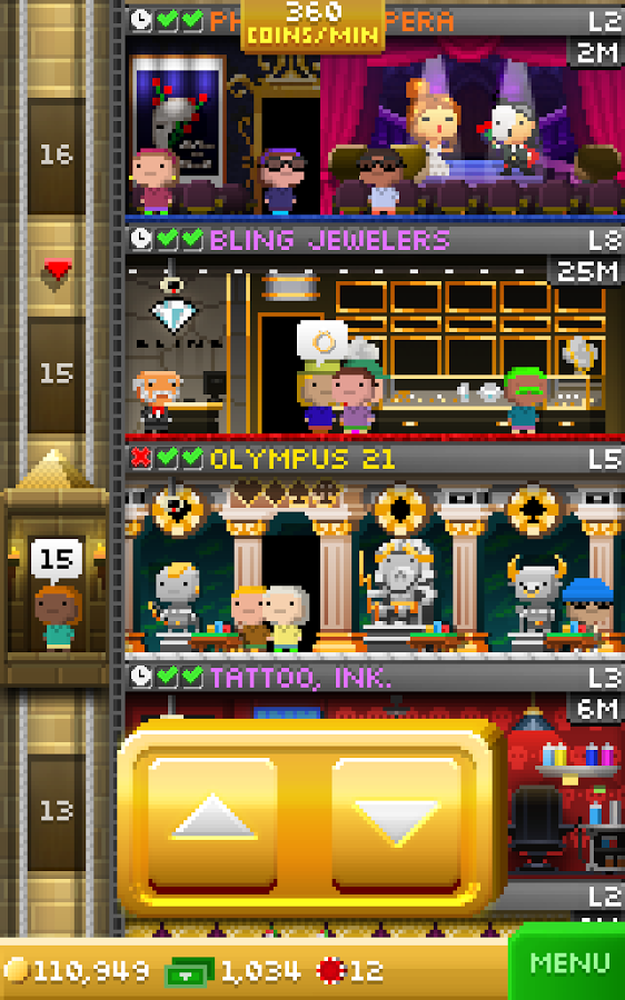 Tiny tower v3. 3. 7 hack mod android apk download apkmodmirror. Info.