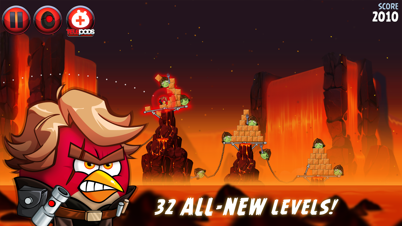 Angry Birds Star Wars Ii 2013 Promotional Art Mobygames