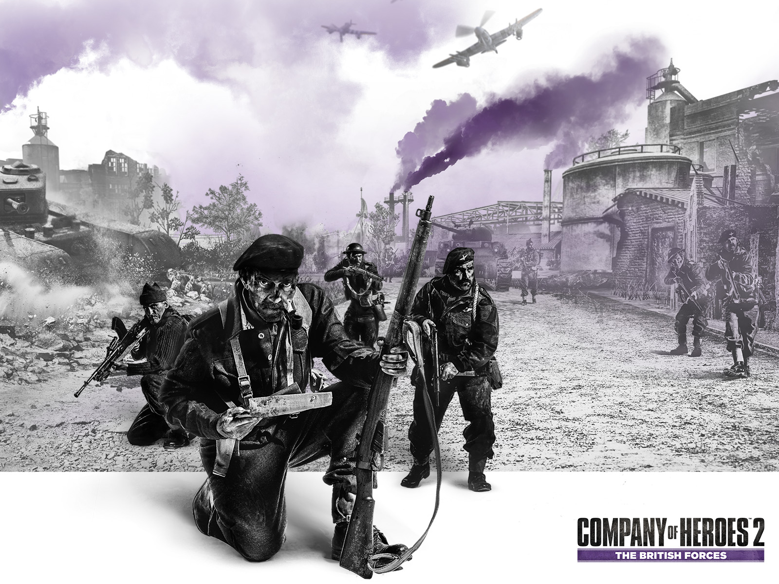 company of heroes 2: the british forces (2015) promotional art