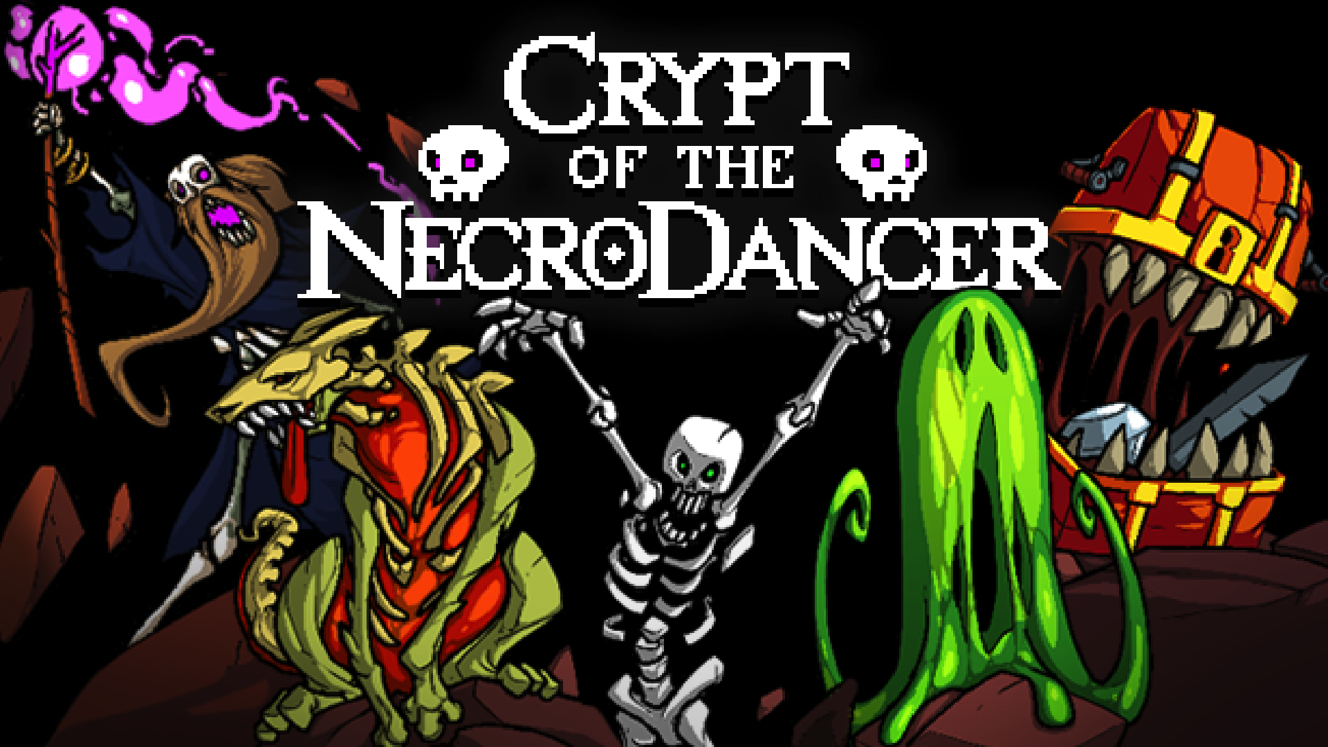 Crypt Of The Necrodancer 2015 Promotional Art Mobygames