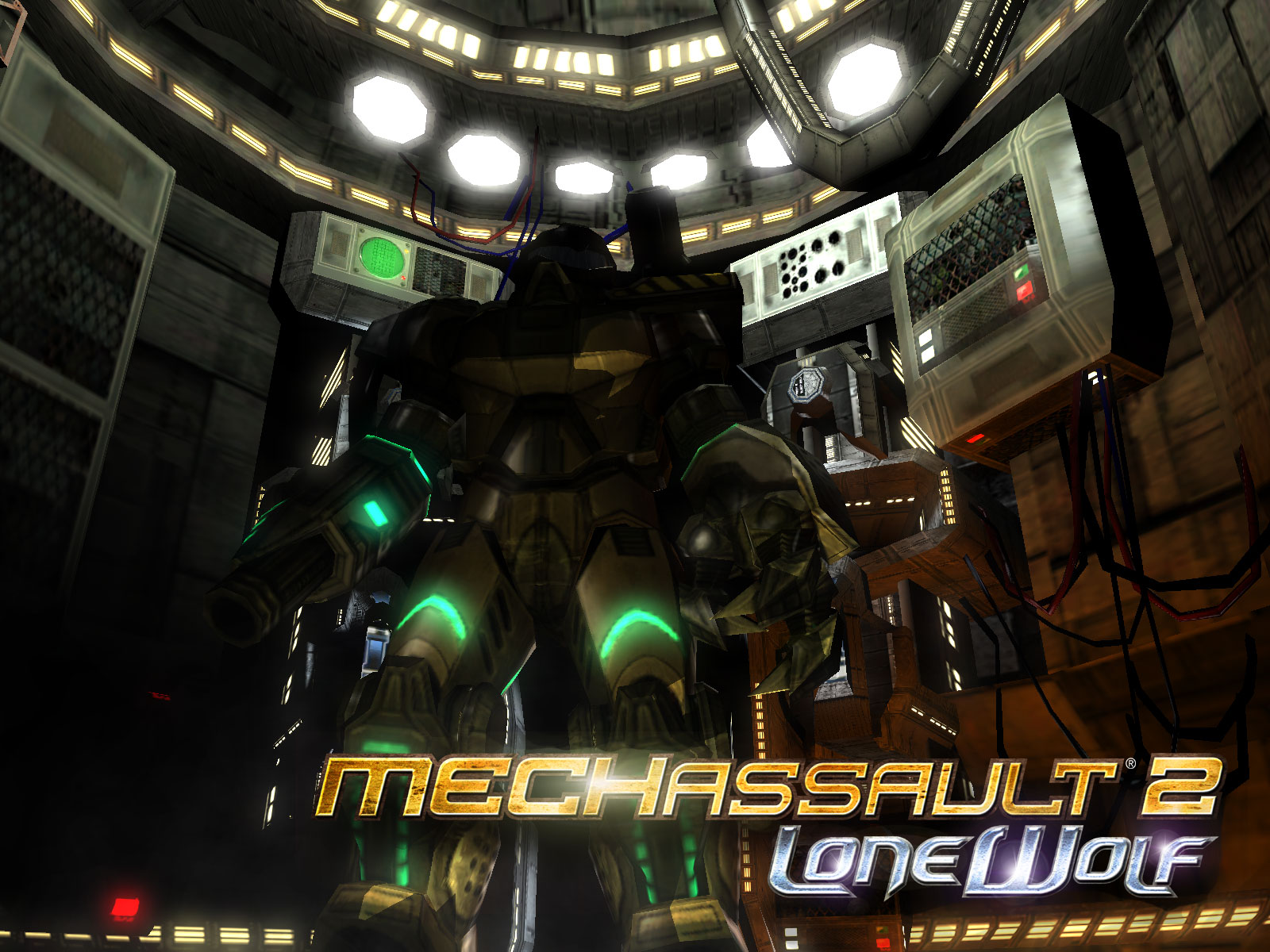 MechAssault 2: Lone Wolf (2004) promotional art - MobyGames