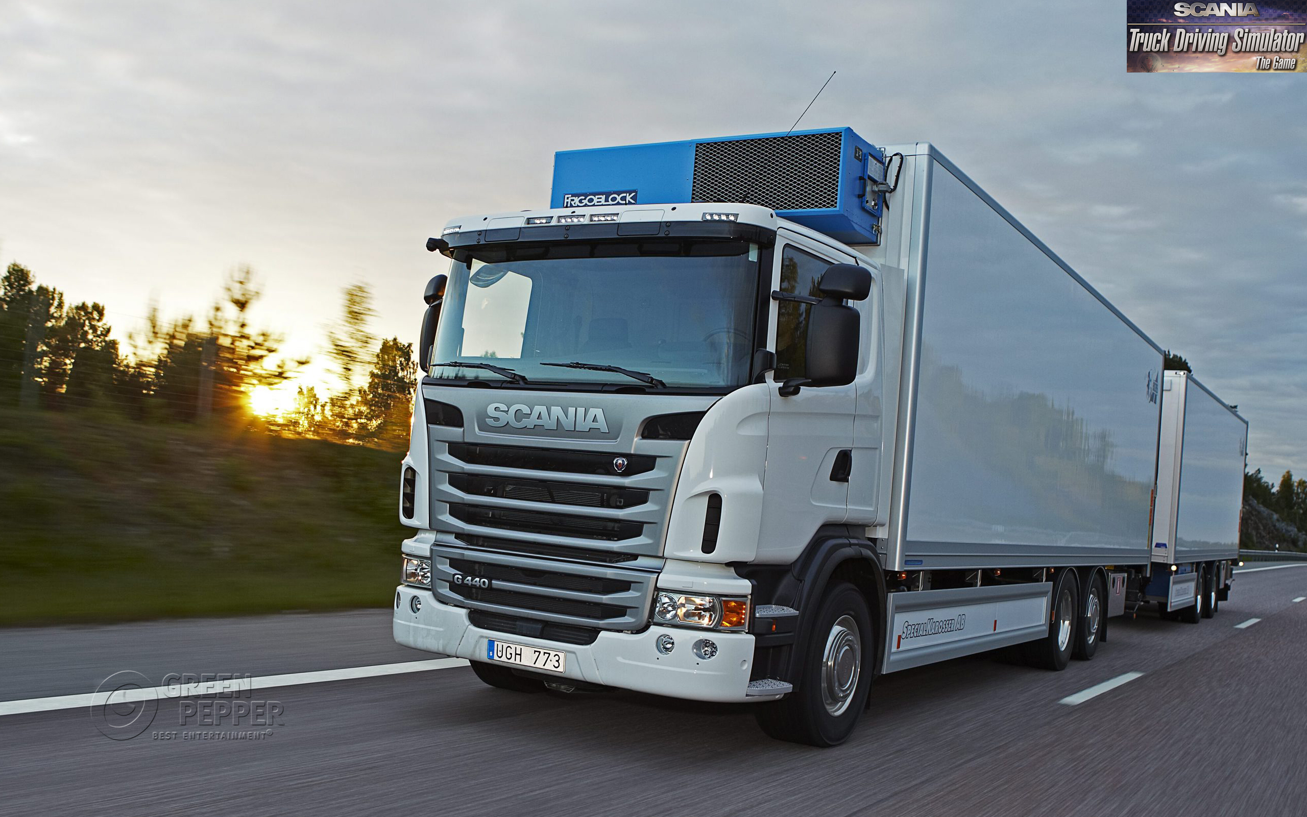 Scania Truck Driving Simulator The Game 2012 Promotional