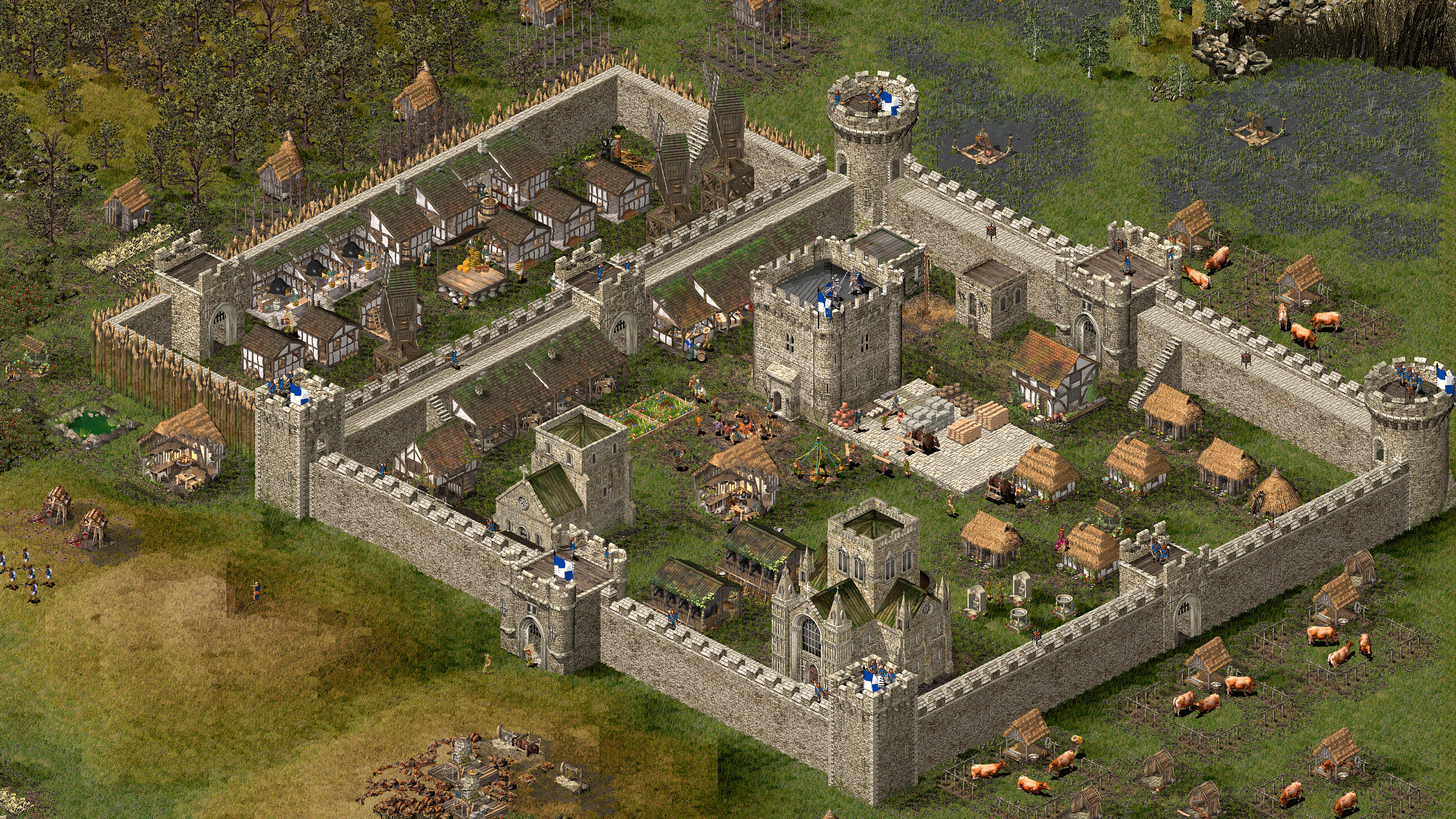 Image result for Stronghold screenshots hd