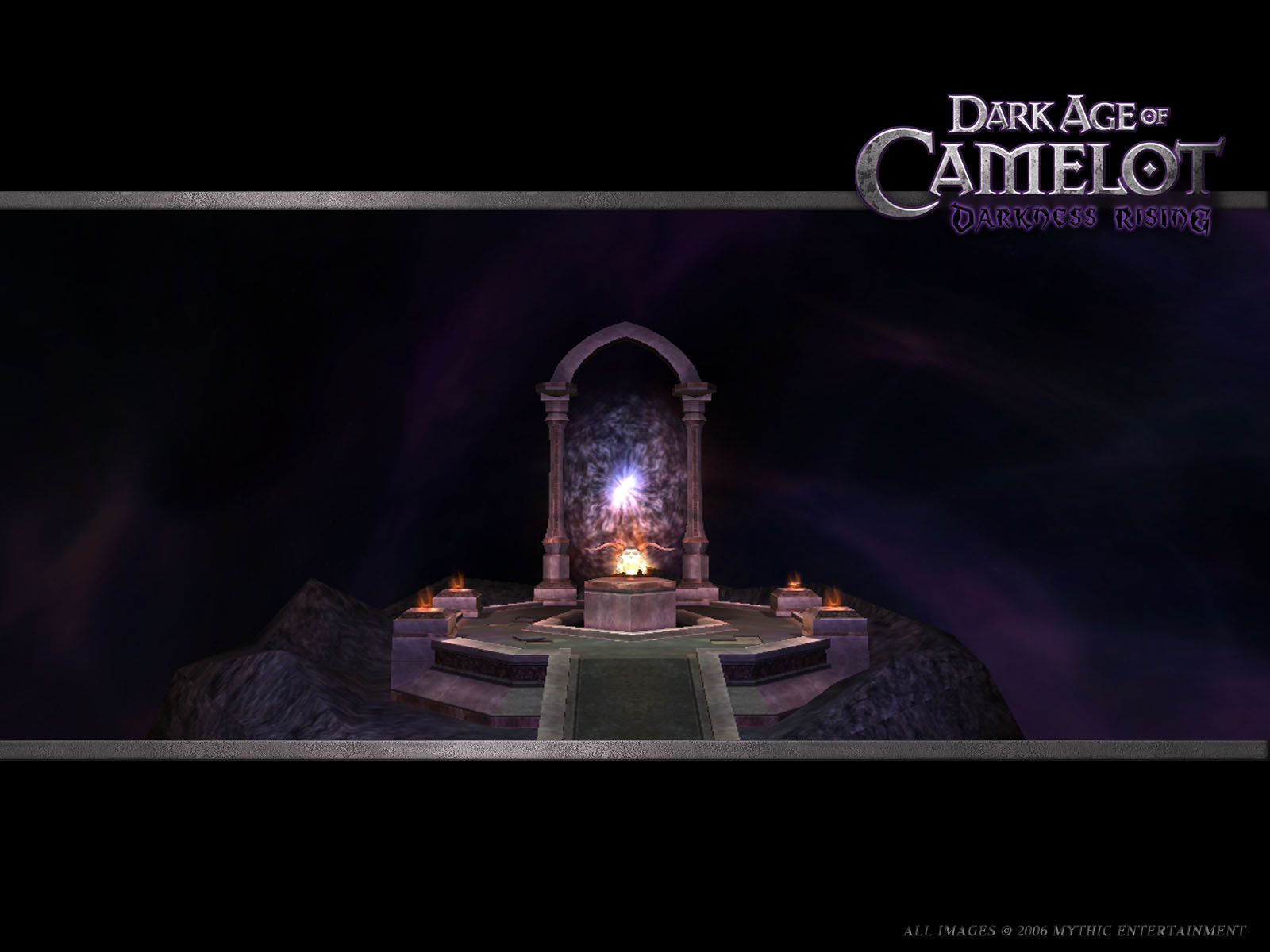 Dark Age Of Camelot Darkness Rising 2005 Promotional Art