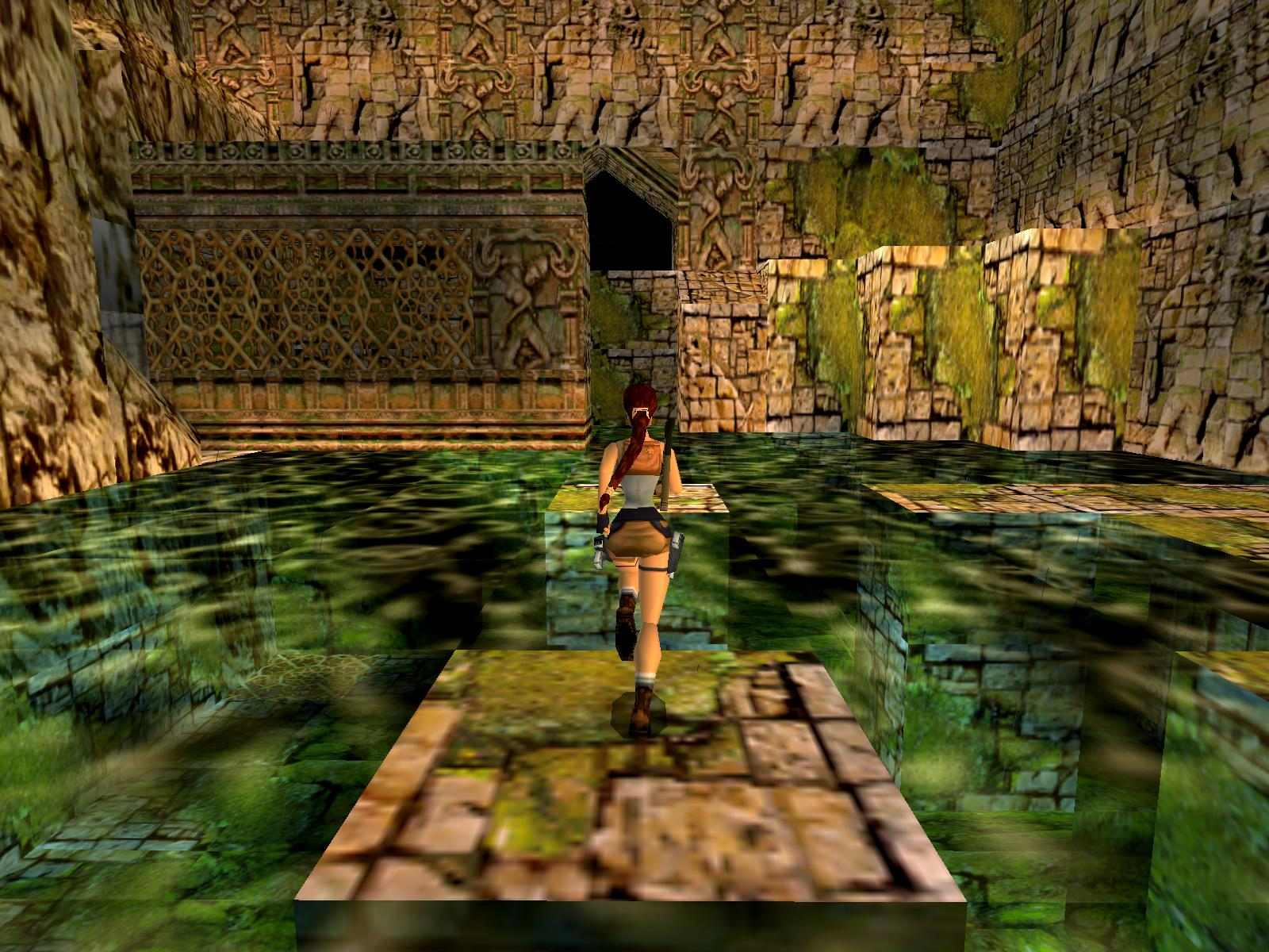 Tomb Raider Iii Adventures Of Lara Croft 1998 Promotional Art