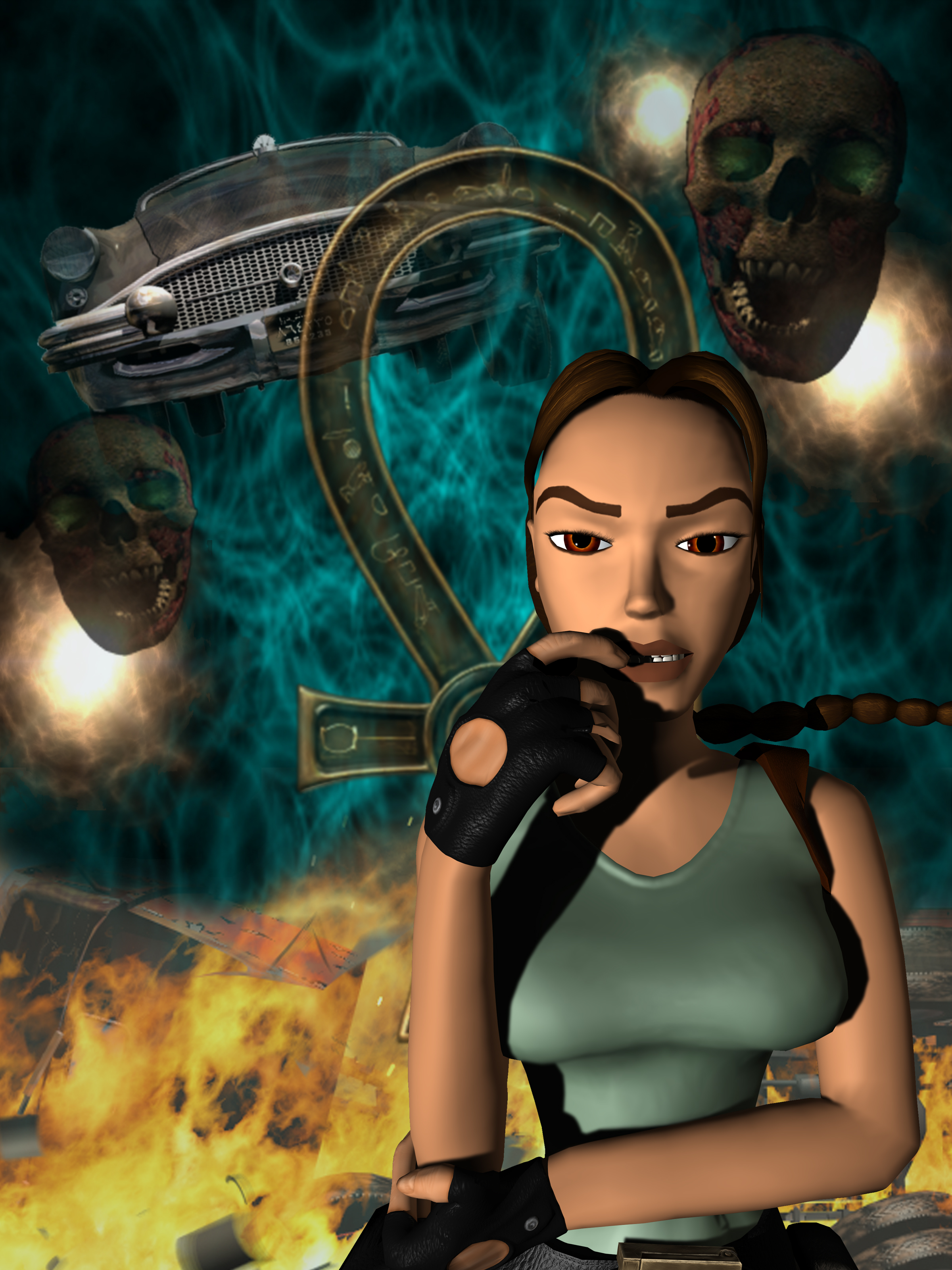 Tomb Raider The Last Revelation 1999 Promotional Art Mobygames