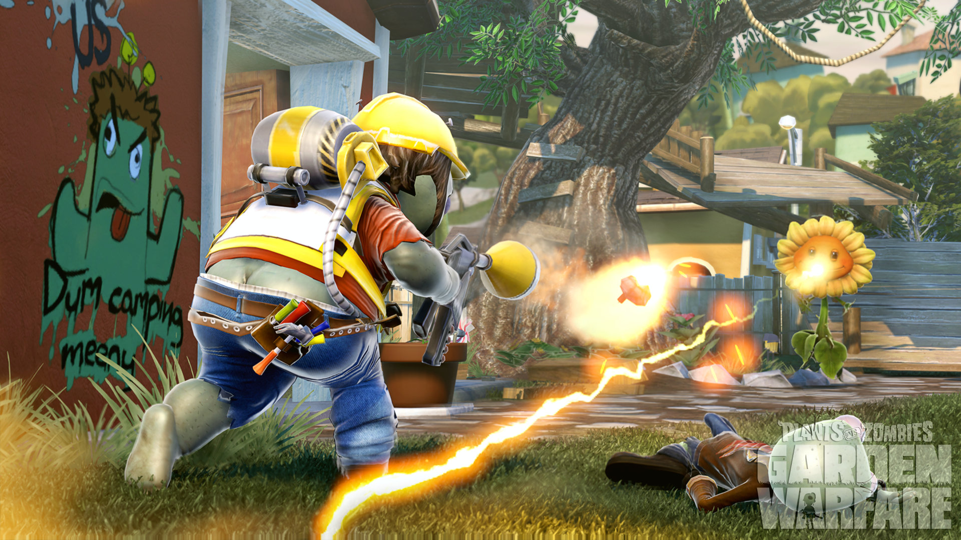 Charming Plants Vs. Zombies: Garden Warfare Screenshot Amazing Design