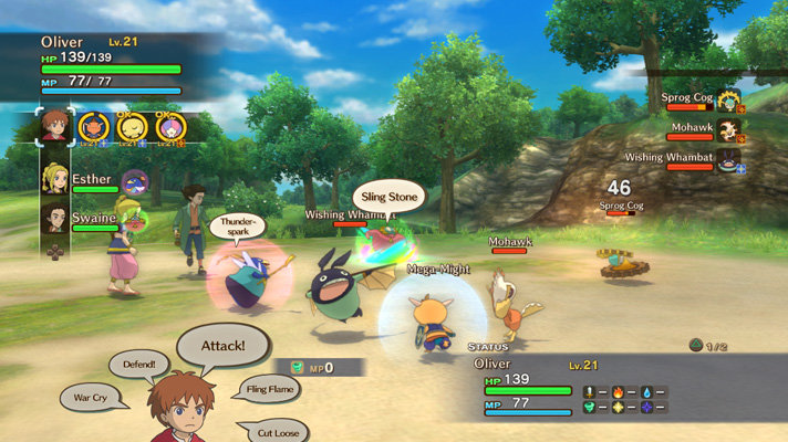 Image result for Ni No Kuni 2011: Wrath of the White Witch