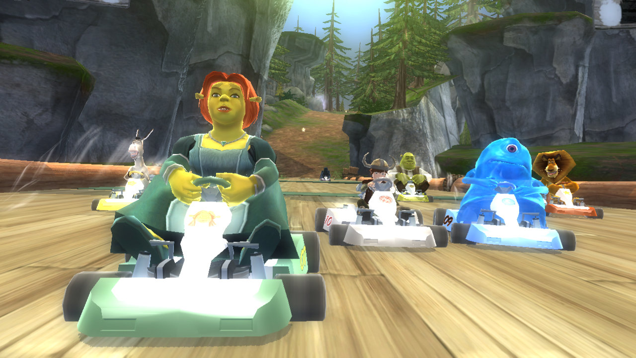 Dreamworks Super Star Kartz Screenshot