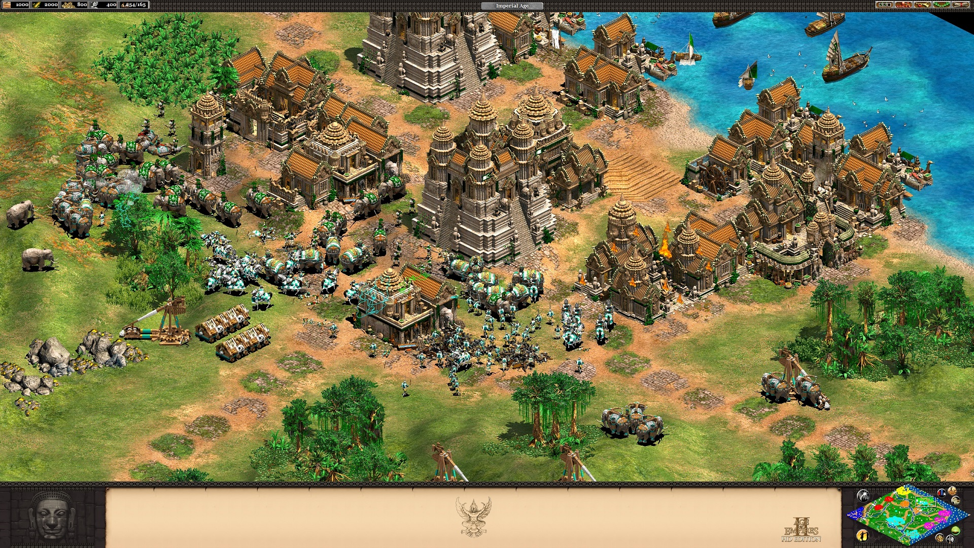 Age of Empires II: HD Edition - Rise of the Rajas Screenshot