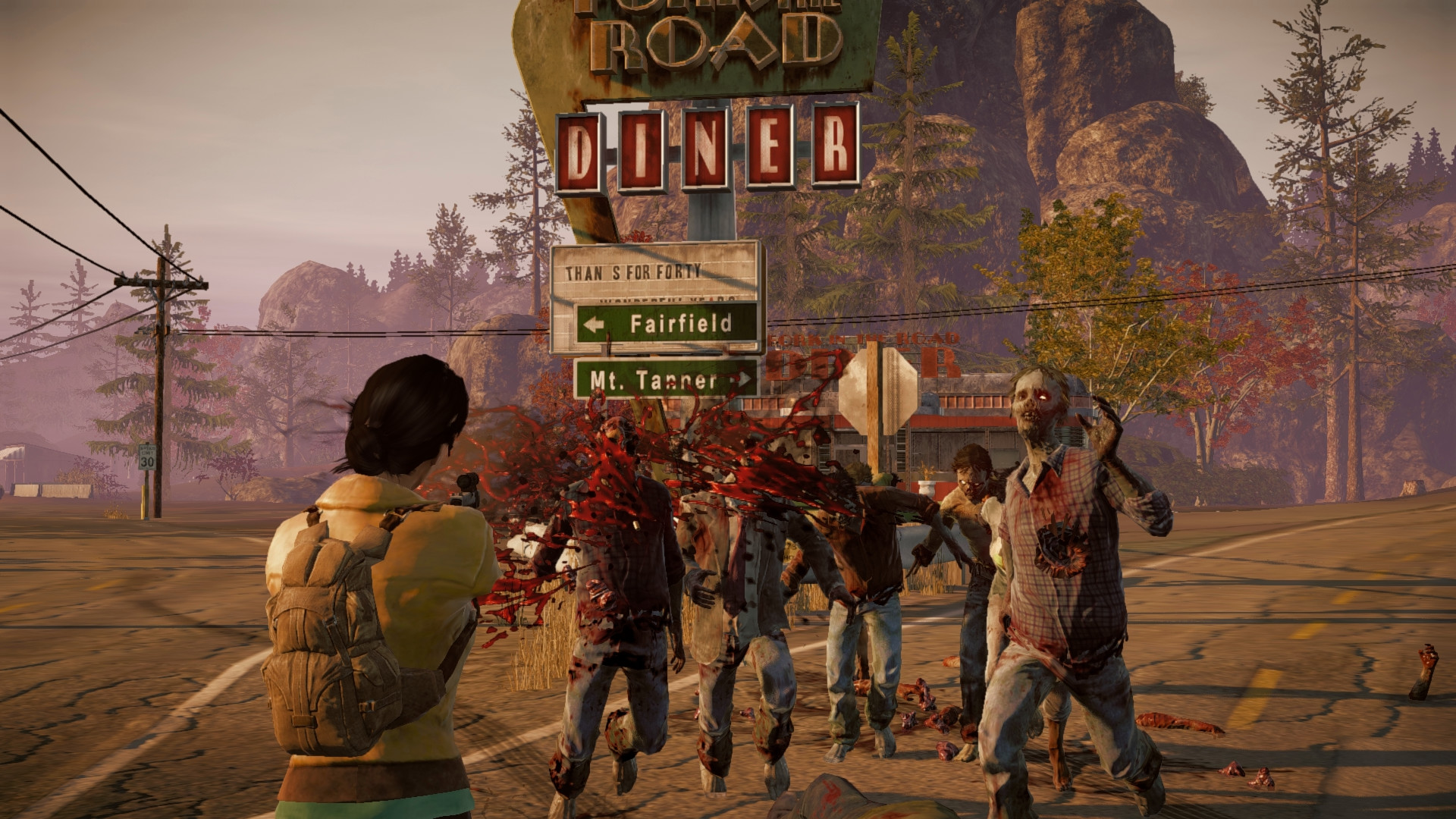 State of Decay: Year-One Survival Edition (2015) promotional art ...