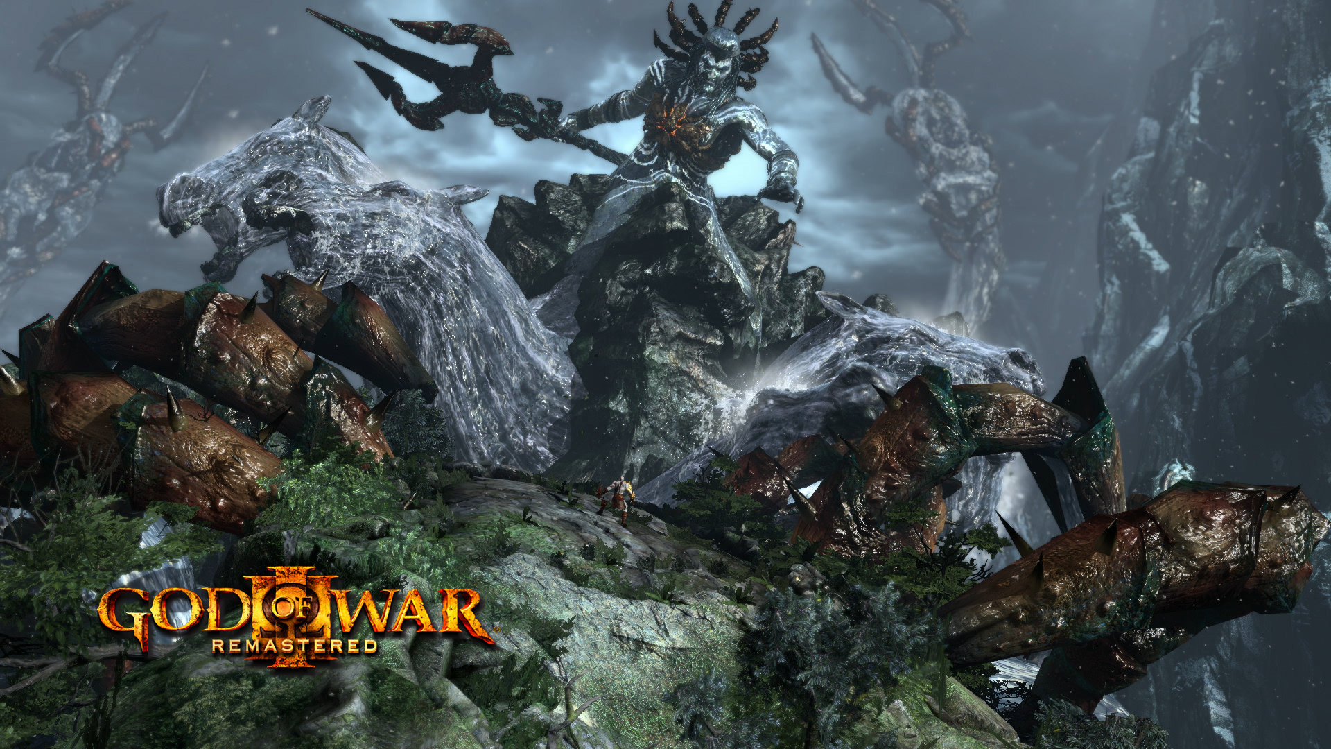 God Of War Iii 2010 Promotional Art Mobygames