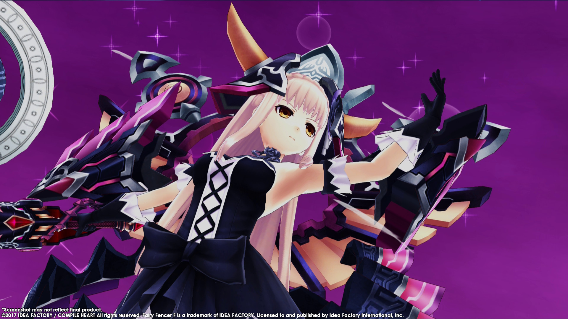 Fairy Fencer F Advent Dark Force 2017 Promotional Art Mobygames