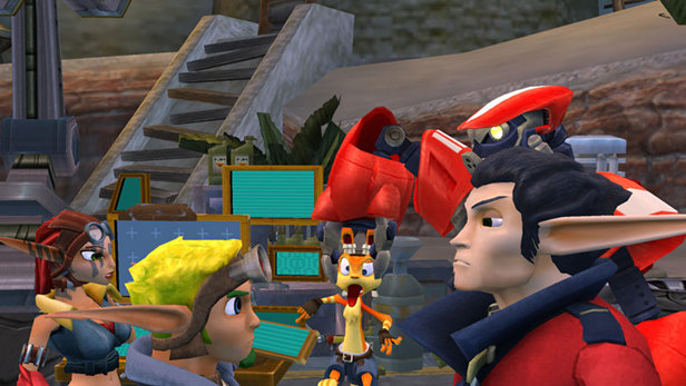 jak and daxter racing