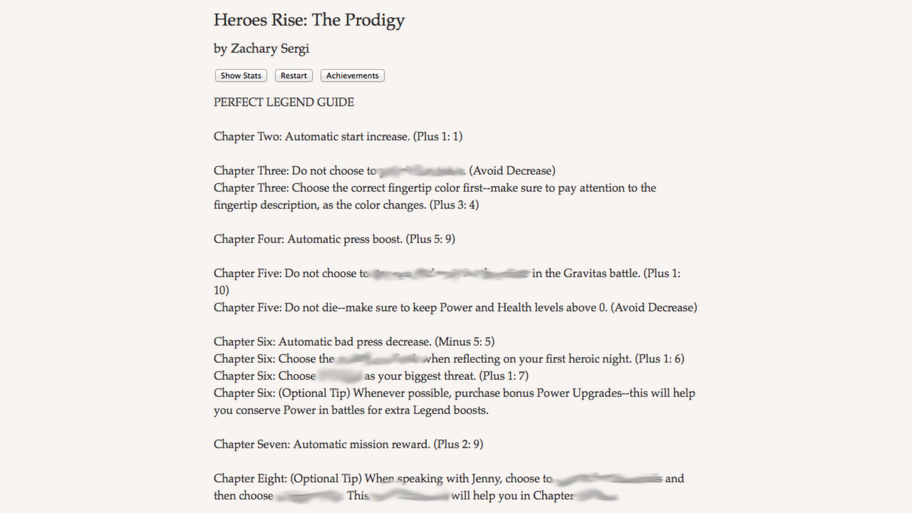 heroes rise the prodigy perfect legend guide 2012 promotional rh mobygames com Go Zero Go Zero