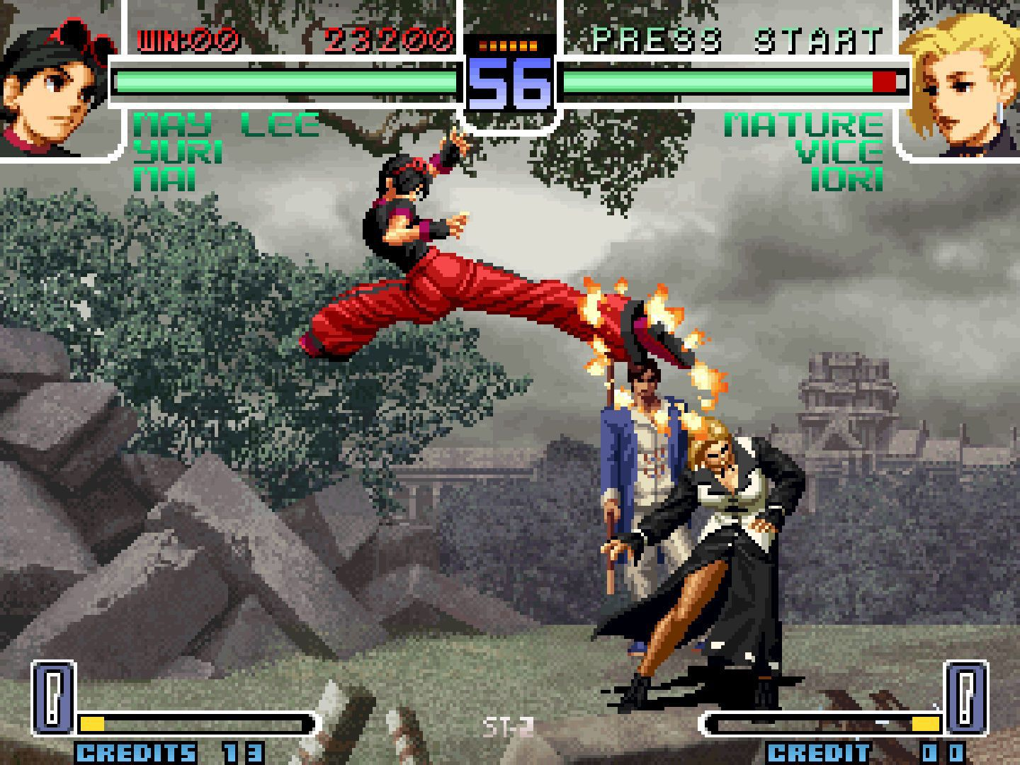 The King Of Fighters 2002 Challenge To Ultimate Battle 2004