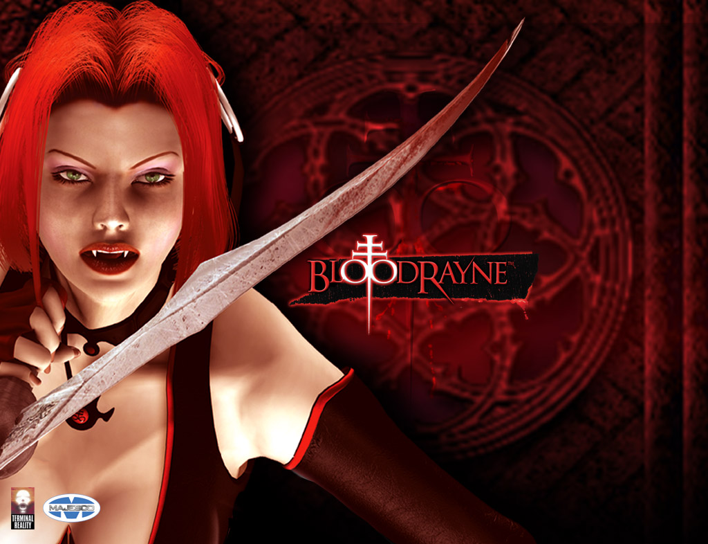 Bloodrayne 2002 Promotional Art Mobygames