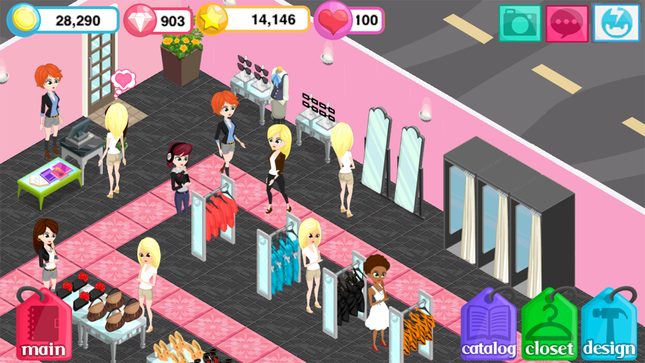 fashion story 2011 promotional art mobygames
