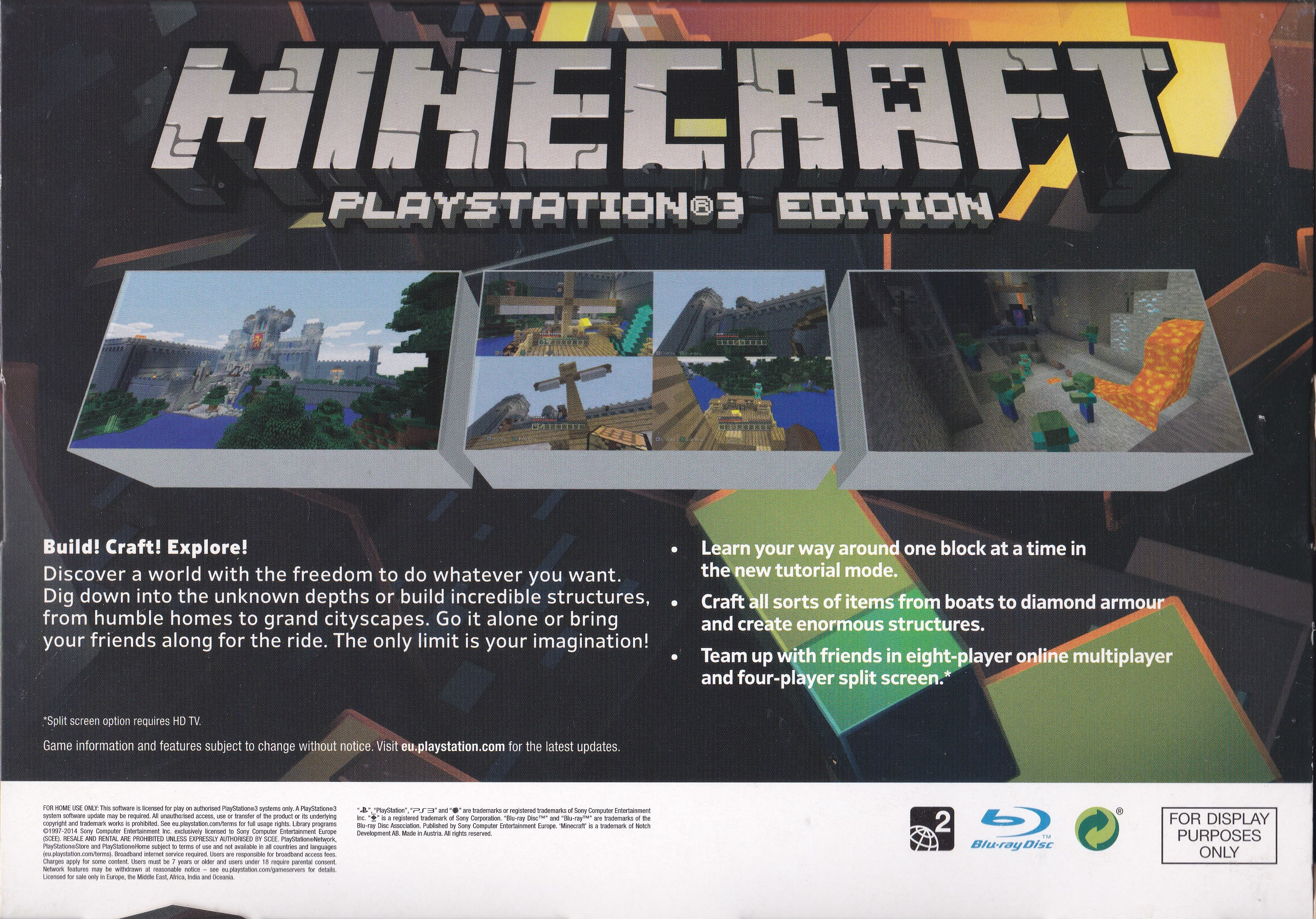 Minecraft: Xbox 360 Edition (2013) promotional art - MobyGames