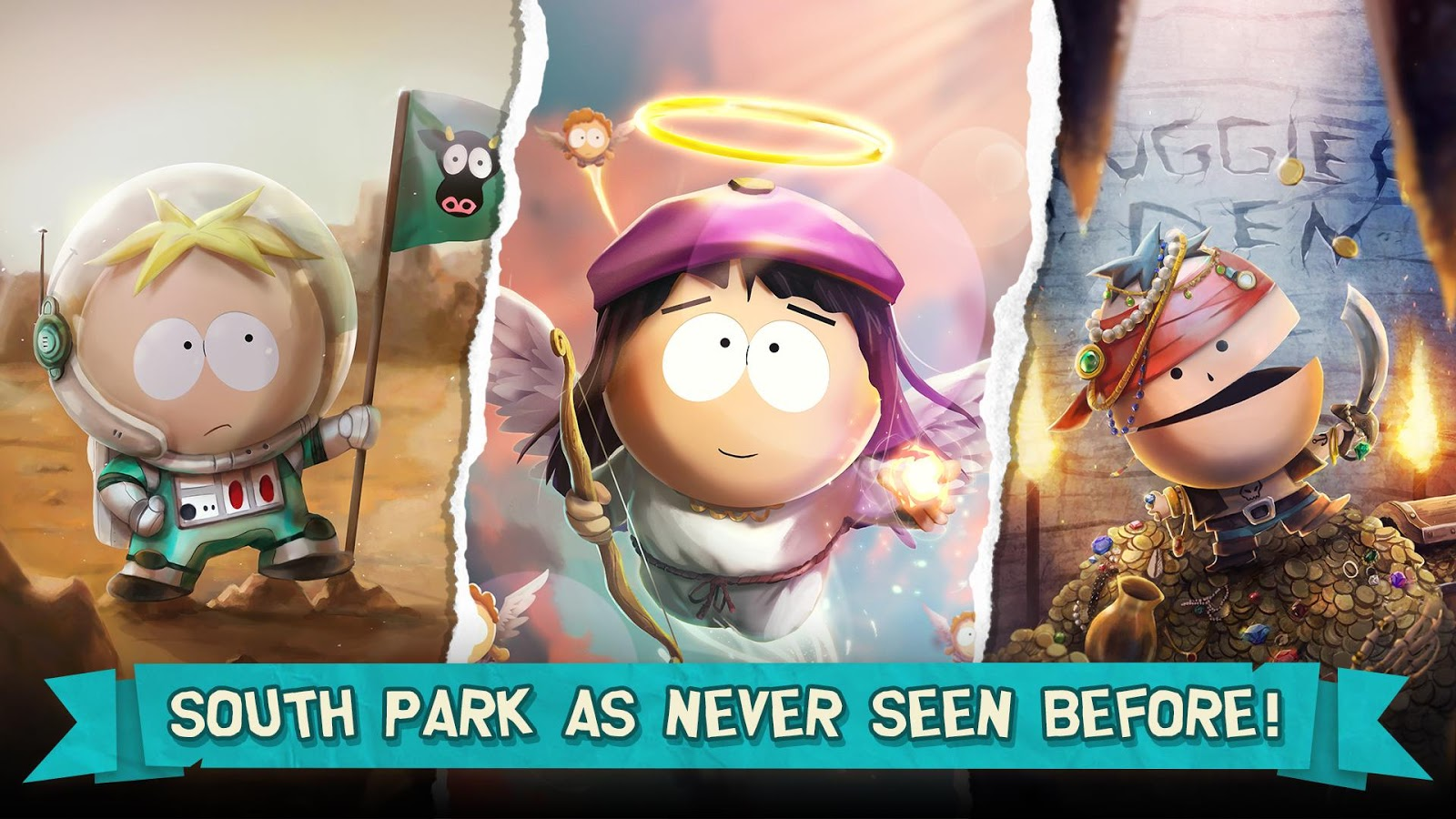 South Park Phone Destroyer 2017 Promotional Art Mobygames