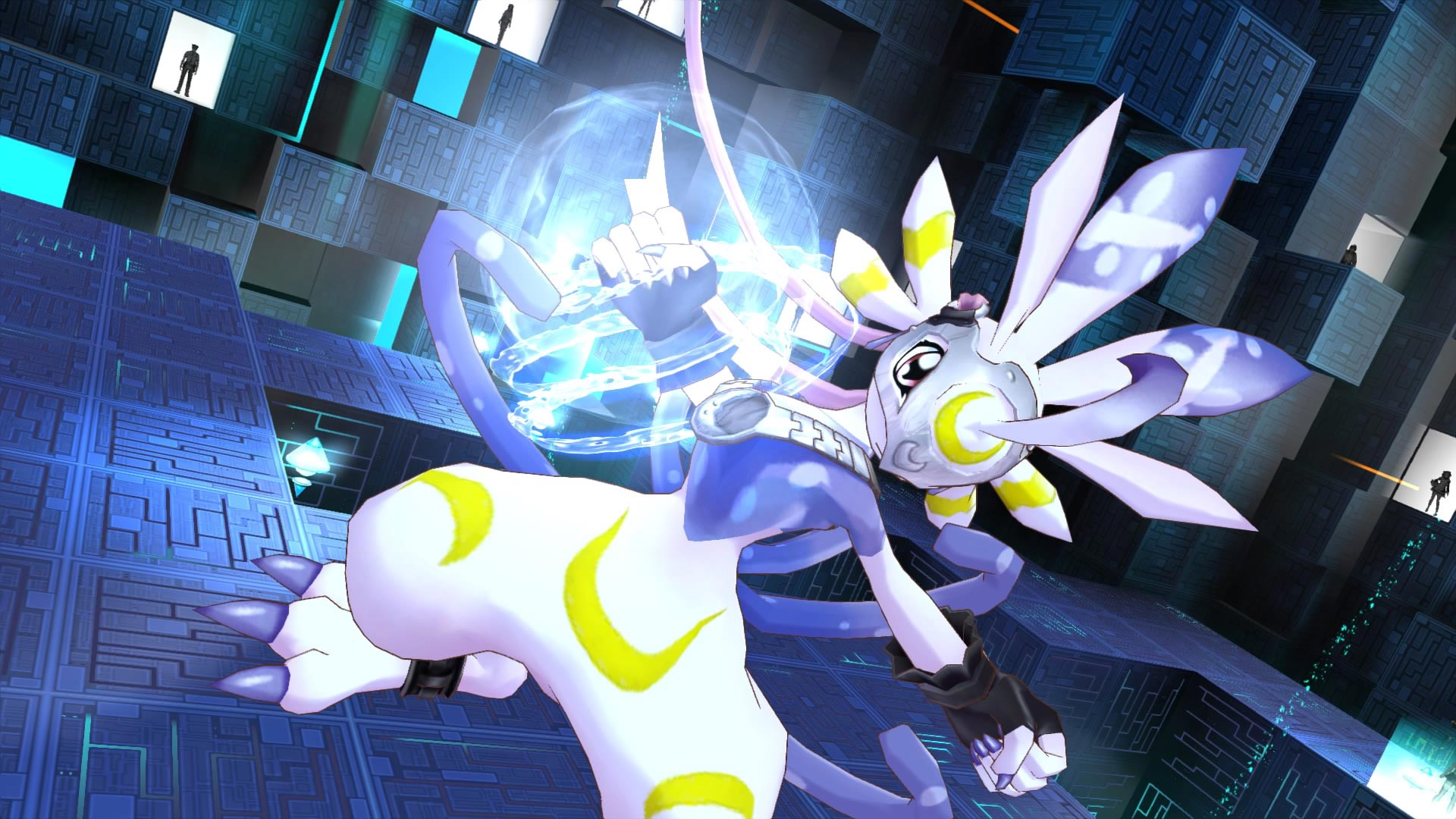 Digimon Story Cyber Sleuth Hacker S Memory 2017 Promotional Art