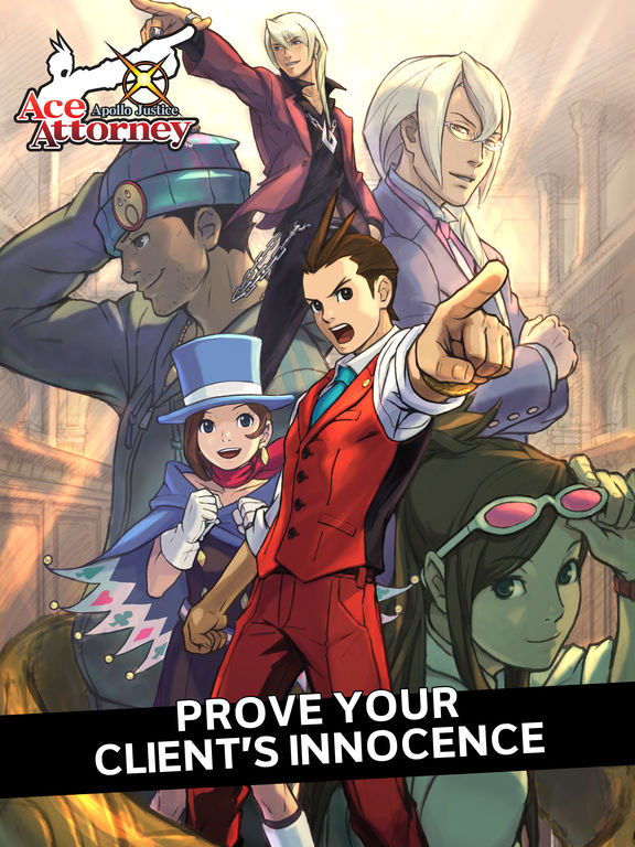 Apollo Justice Ace Attorney 2007 Promotional Art Mobygames