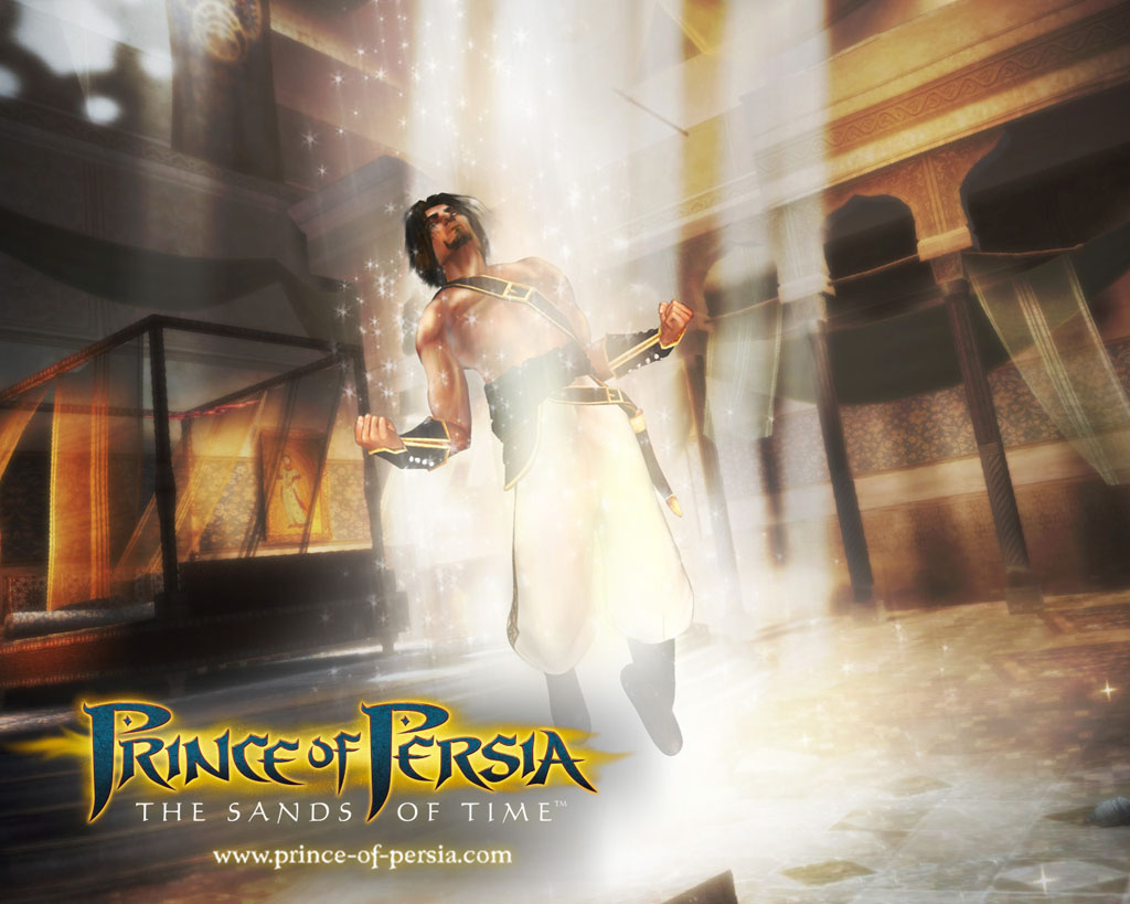 Prince Of Persia The Sands Of Time 2003 Promotional Art Mobygames