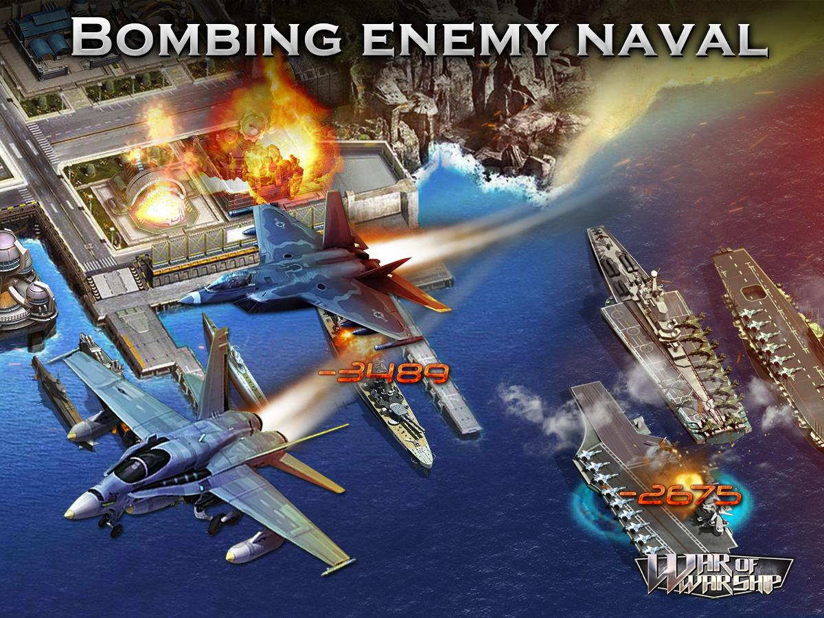 War of Warship: Pacific War (2015) promotional art - MobyGames