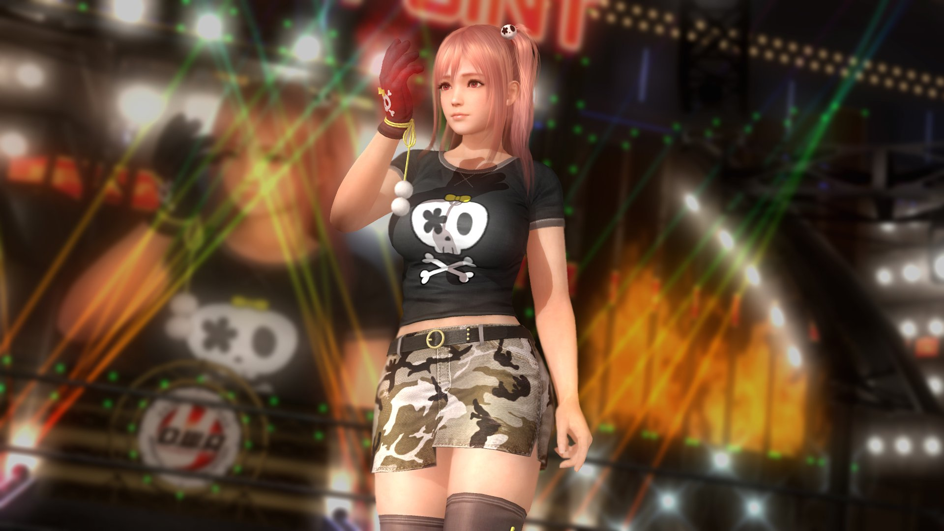 Dead Or Alive 5 Last Round Character Honoka 2015 Promotional