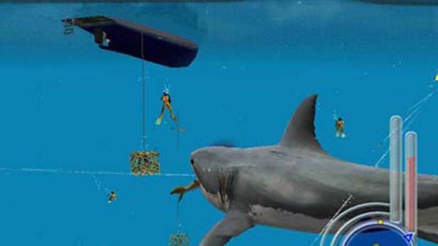 jaws unleashed 2006 promotional art mobygames