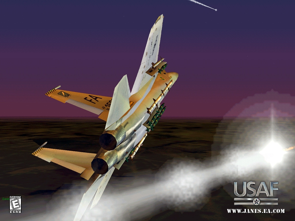 Jane S Combat Simulations Usaf United States Air Force 1999