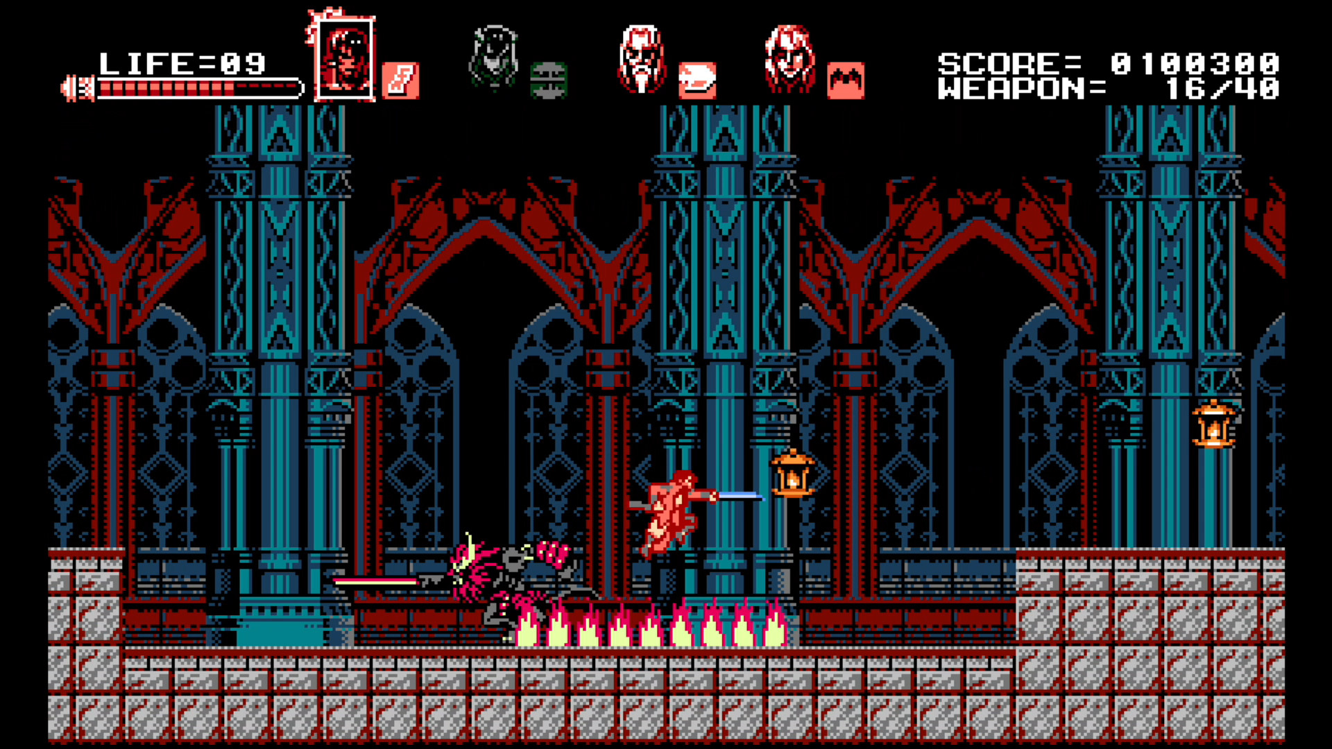 Bloodstained Curse Of The Moon 2018 Promotional Art Mobygames