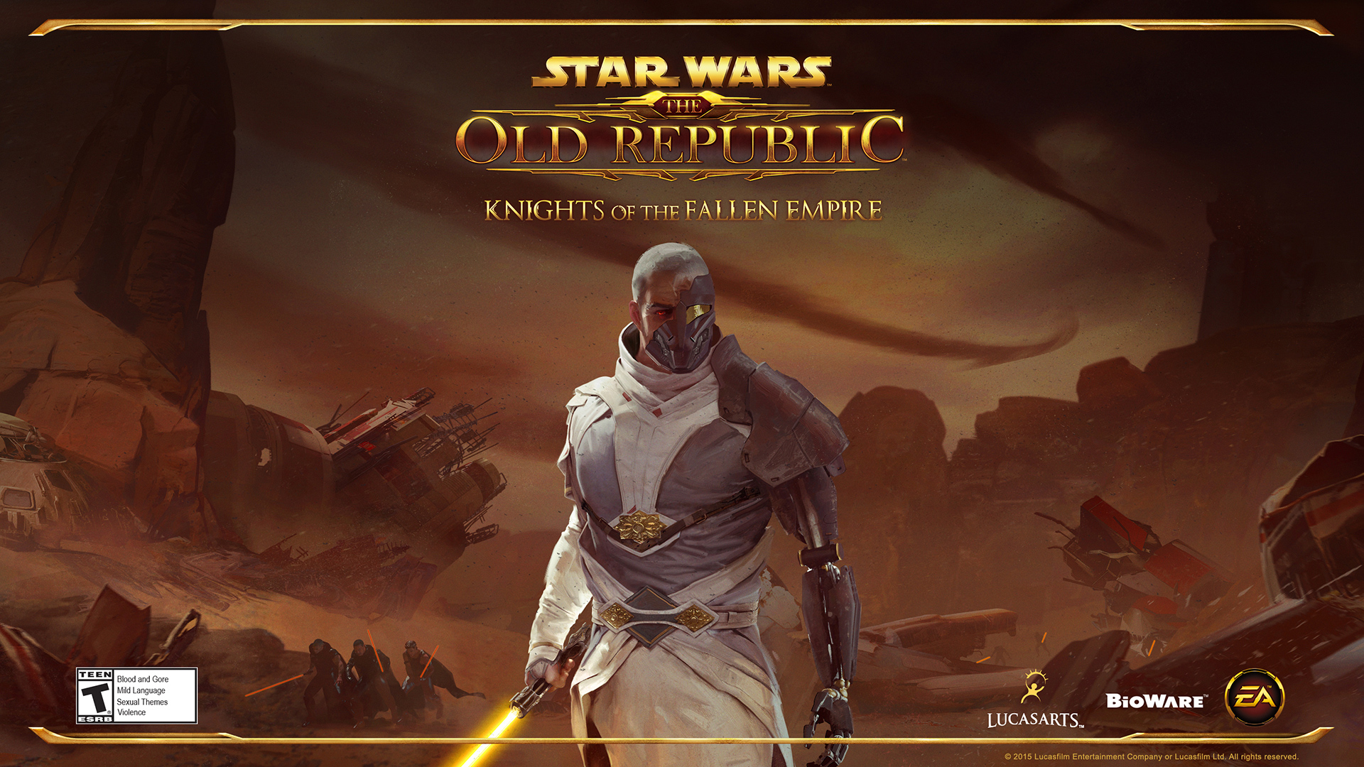 Star Wars The Old Republic Knights Of The Fallen Empire 2015 Promotional Art Mobygames
