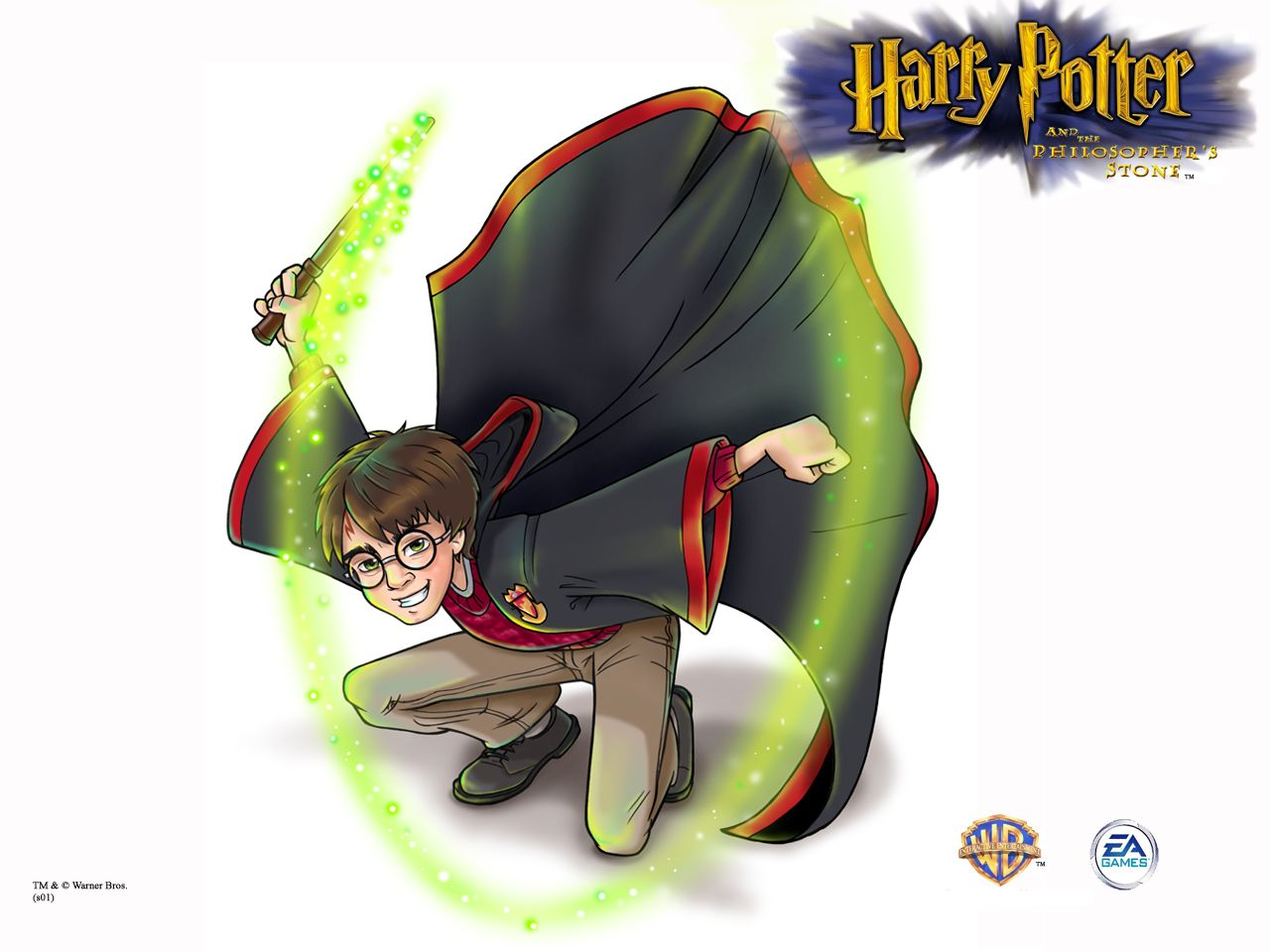 Harry Potter And The Sorcerers Stone 2001 Promotional Art
