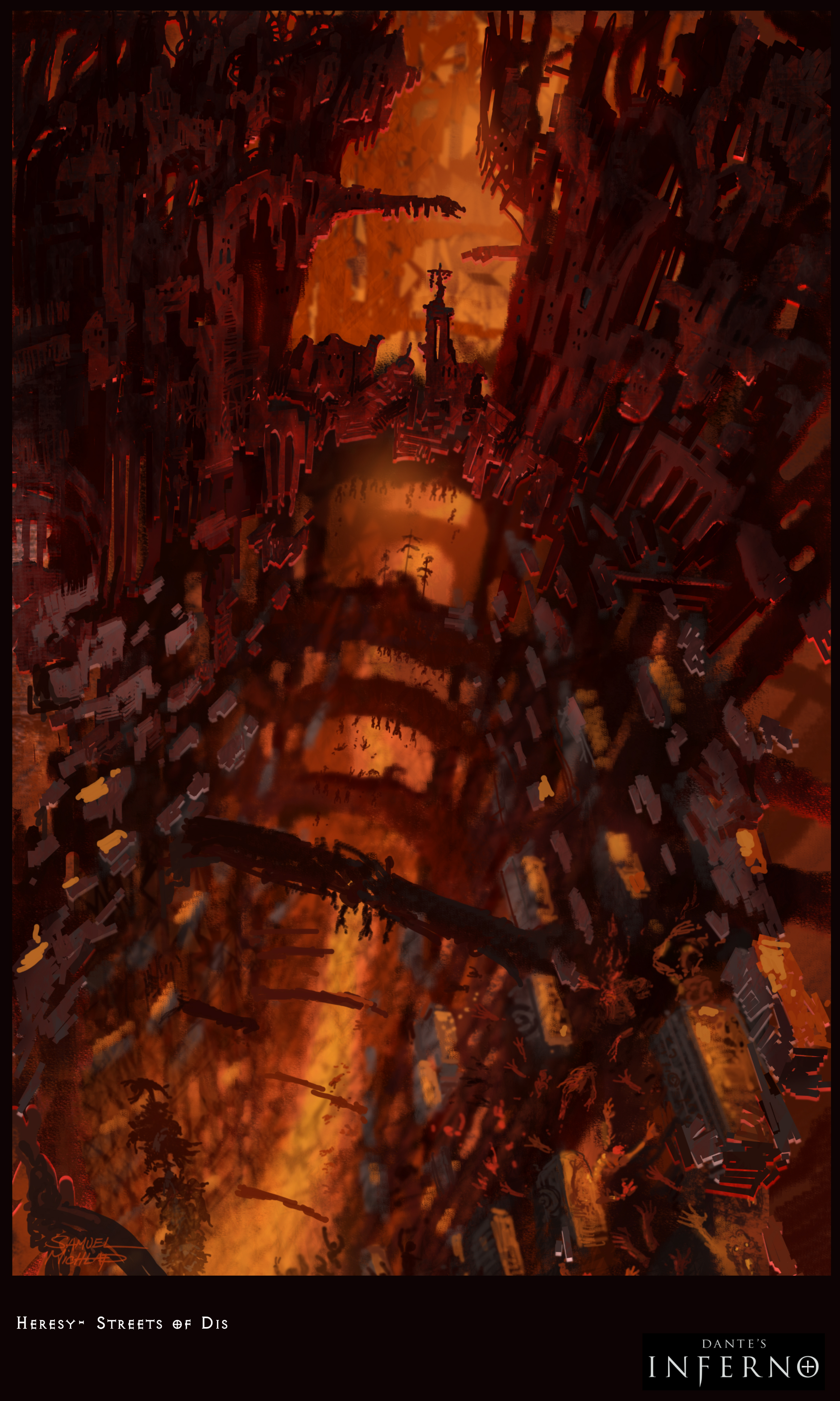 Dante S Inferno 2010 Promotional Art Mobygames