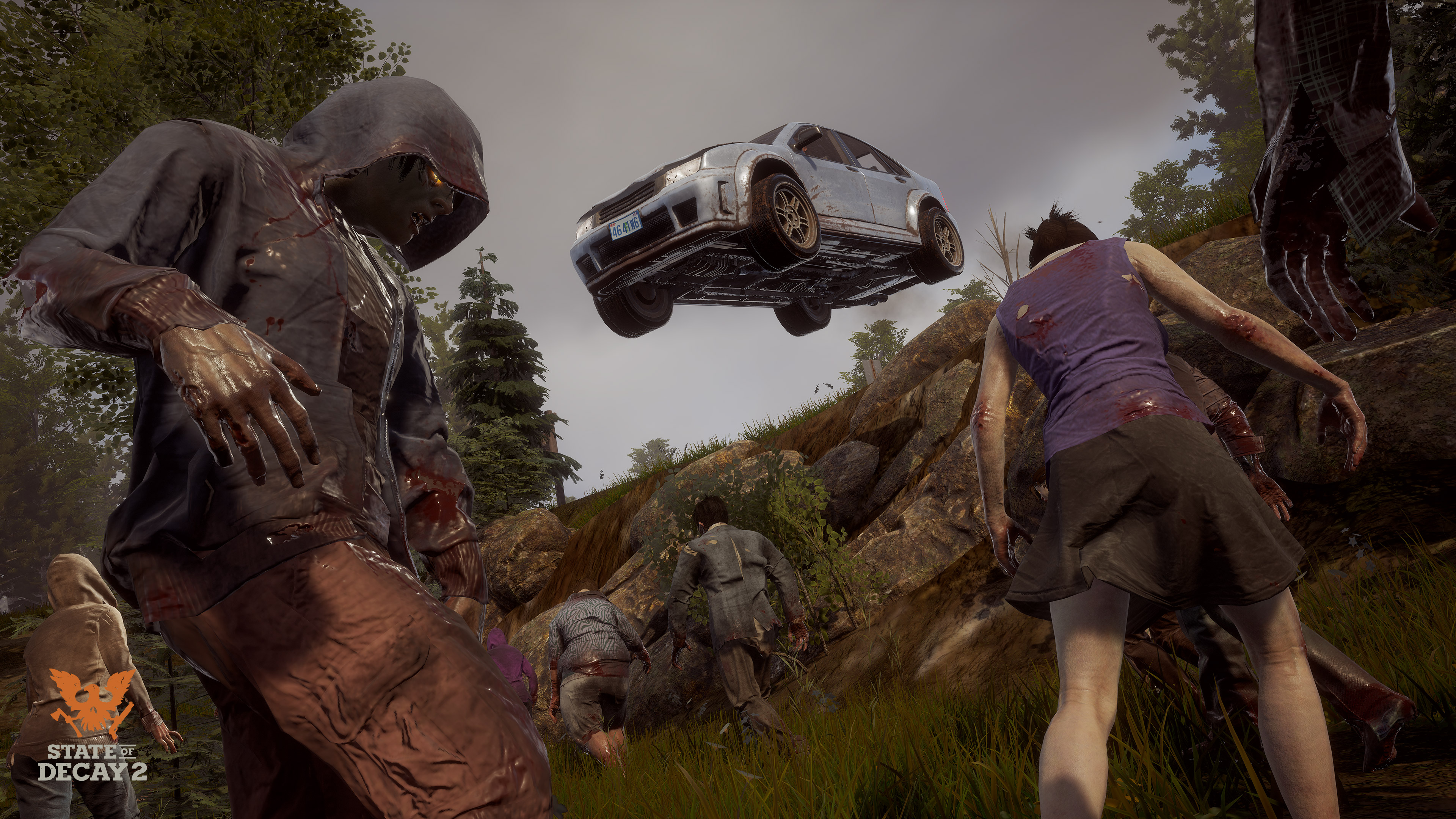 State Of Decay 2 2018 Promotional Art Mobygames