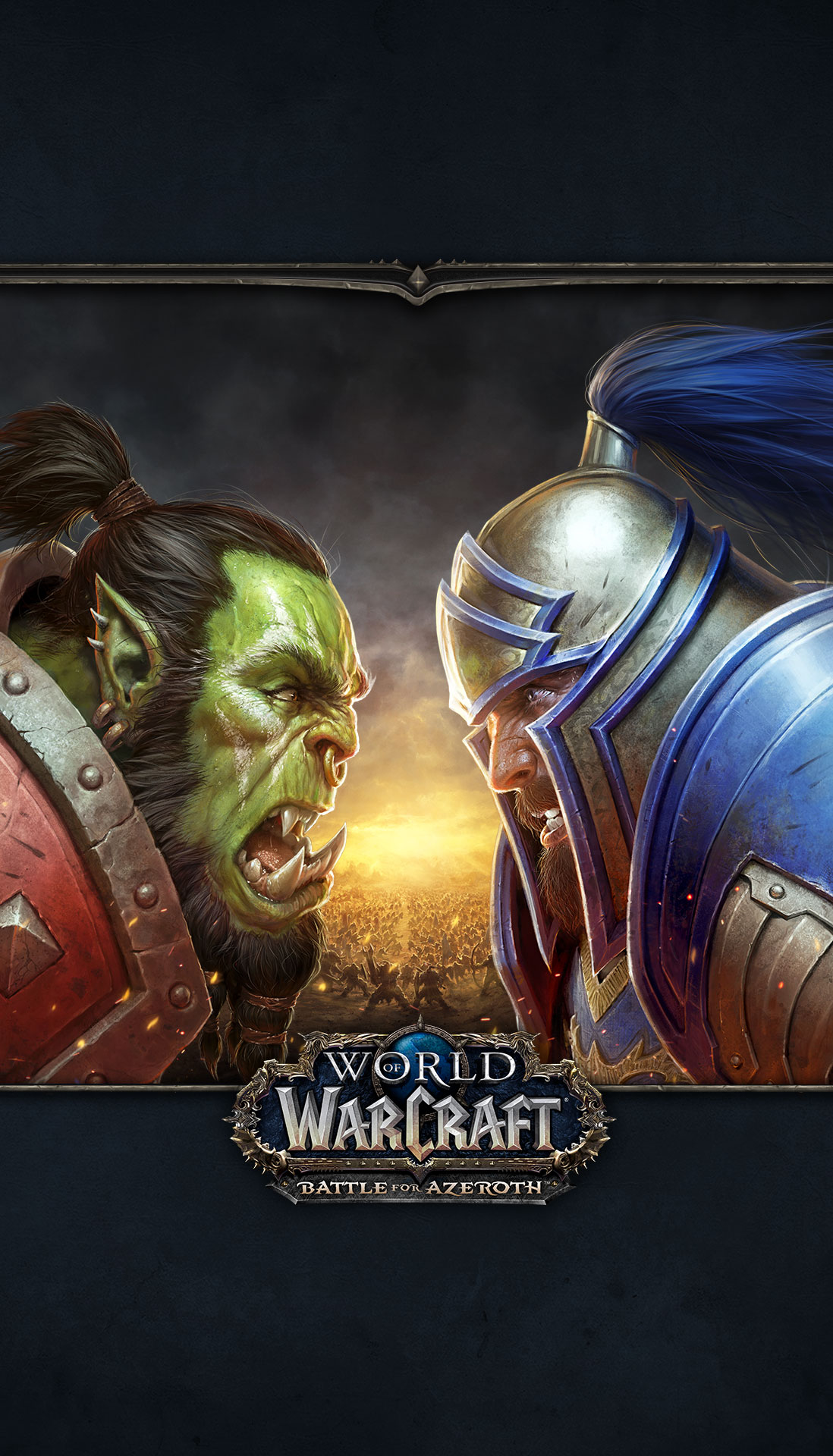 World Of Warcraft Battle For Azeroth 2018 Promotional Art
