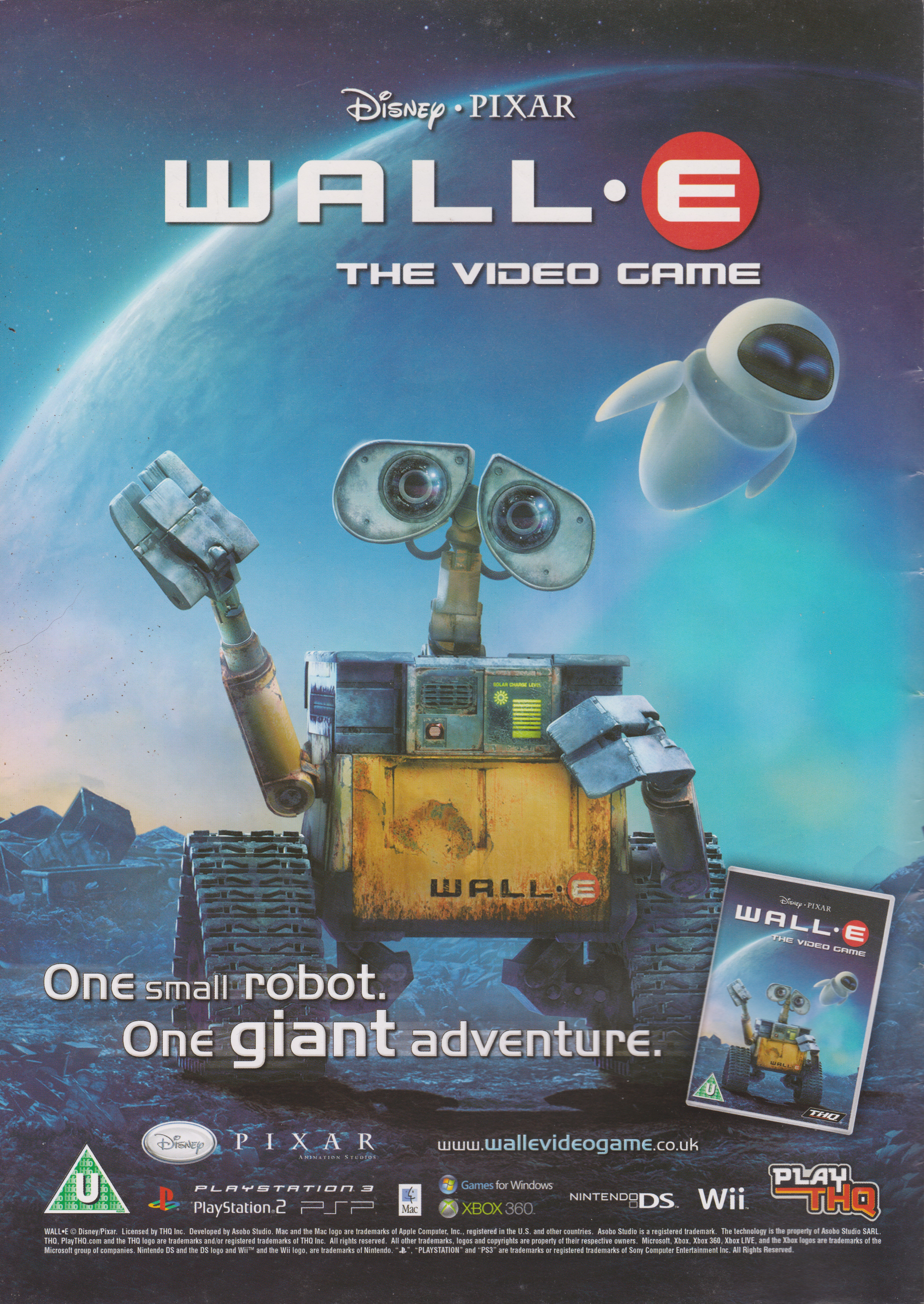 Wall E 2008 Promotional Art Mobygames