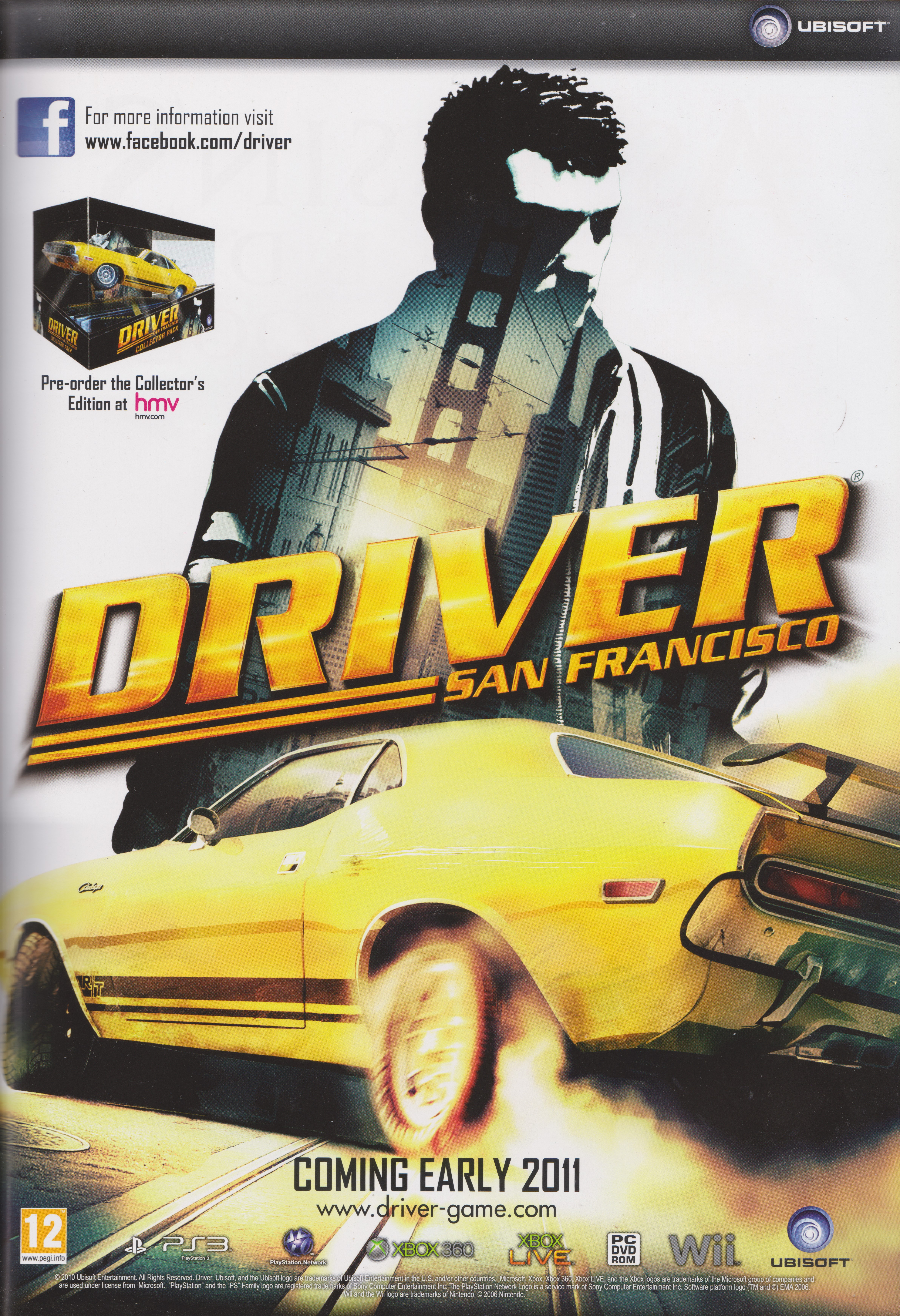 Driver: San Francisco (2011) promotional art - MobyGames