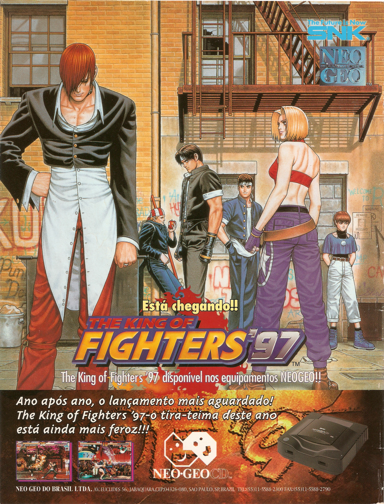 The King Of Fighters 97 1997 Promotional Art Mobygames