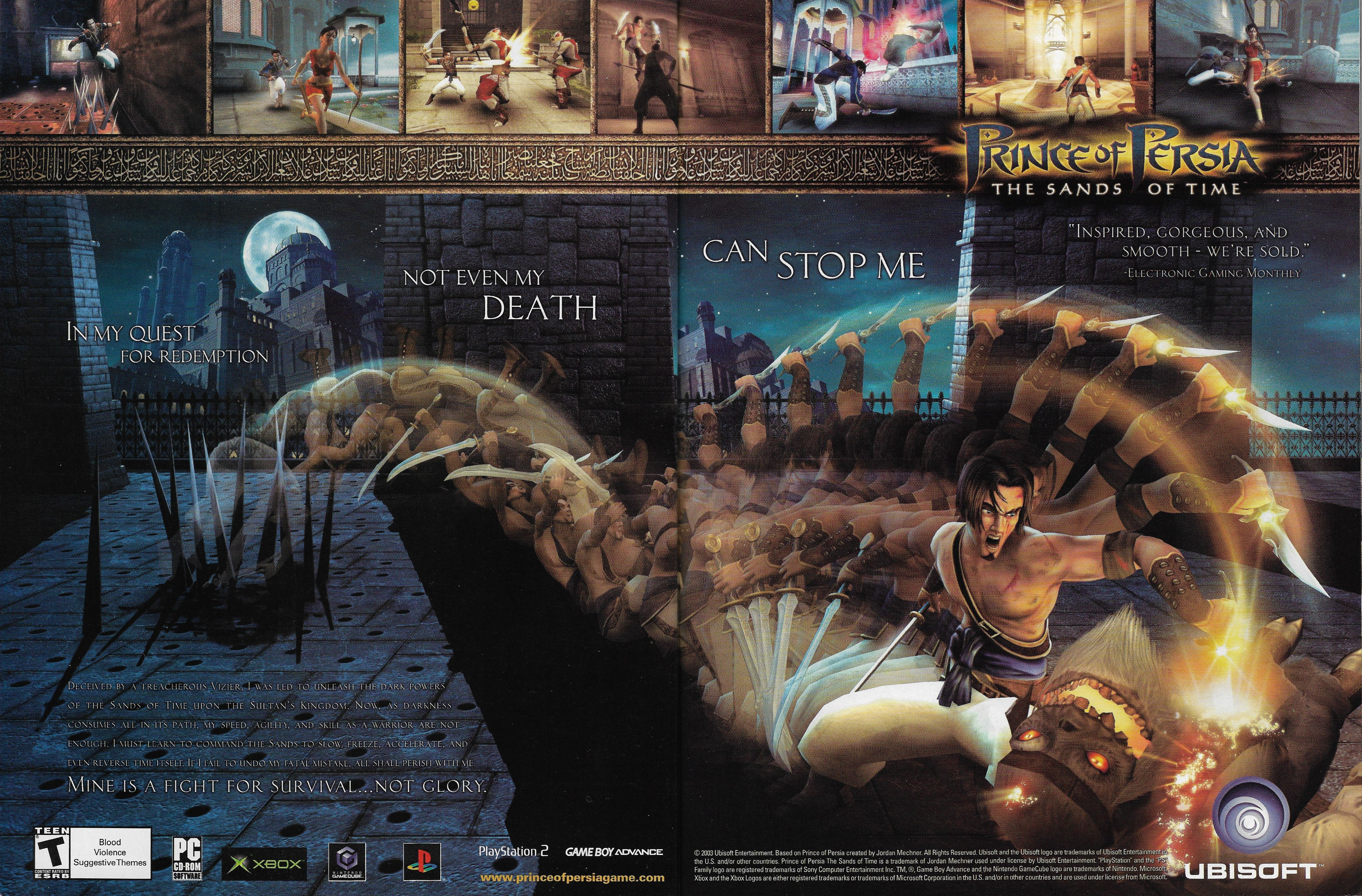 Prince Of Persia The Sands Of Time 2010 Promotional Art Mobygames
