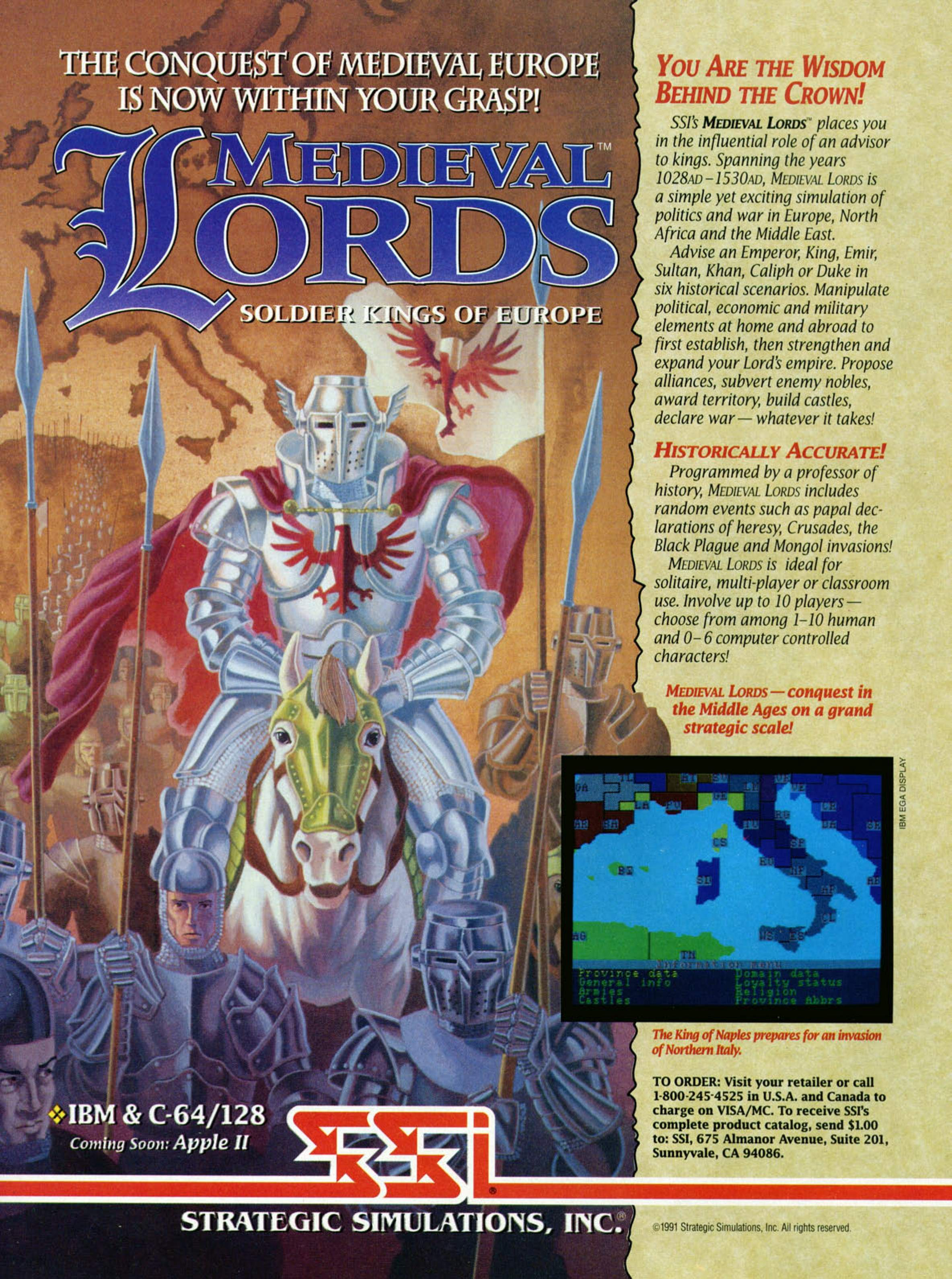 medieval lords pc game