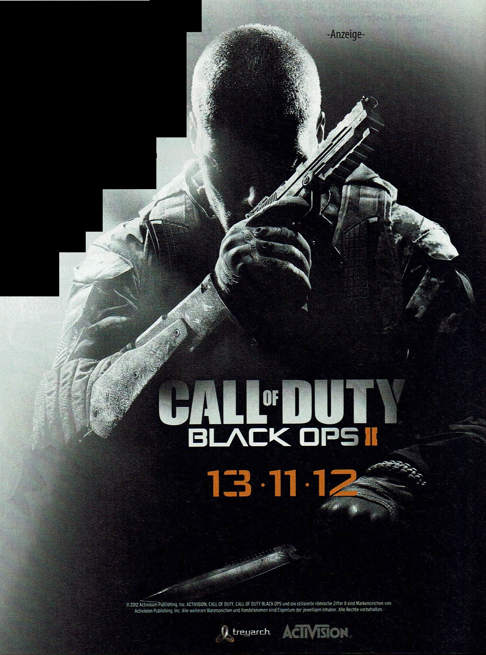 Call of Duty: Black Ops II (2012) promotional art - MobyGames