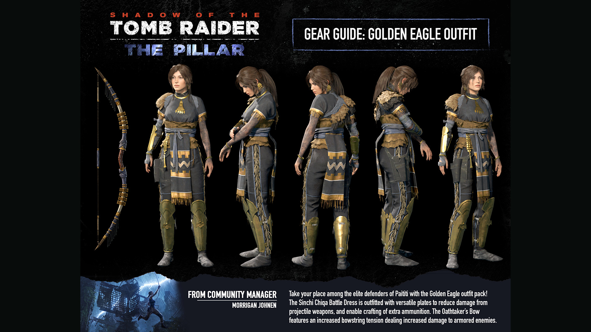 Shadow of the Tomb Raider: Golden Eagle Gear 2018 pc game Img-4